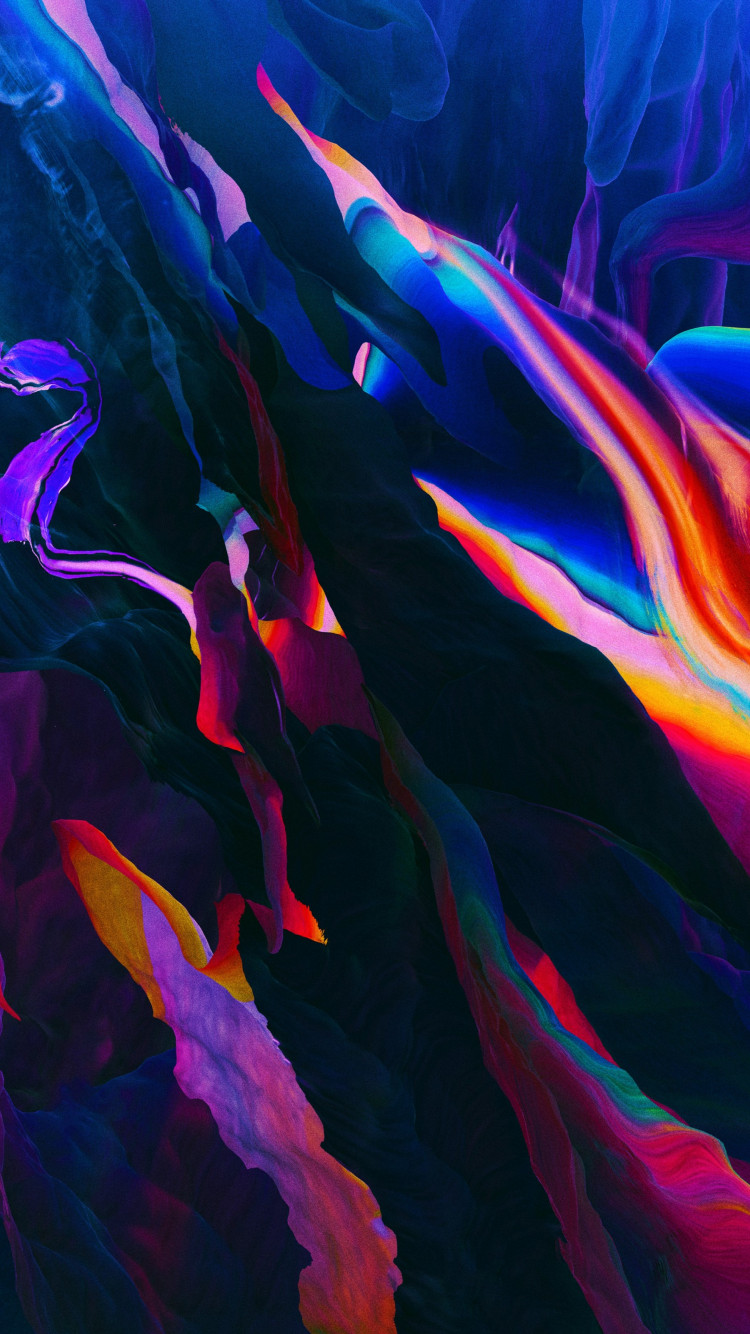 Abstract colorful wallpaper 750x1334