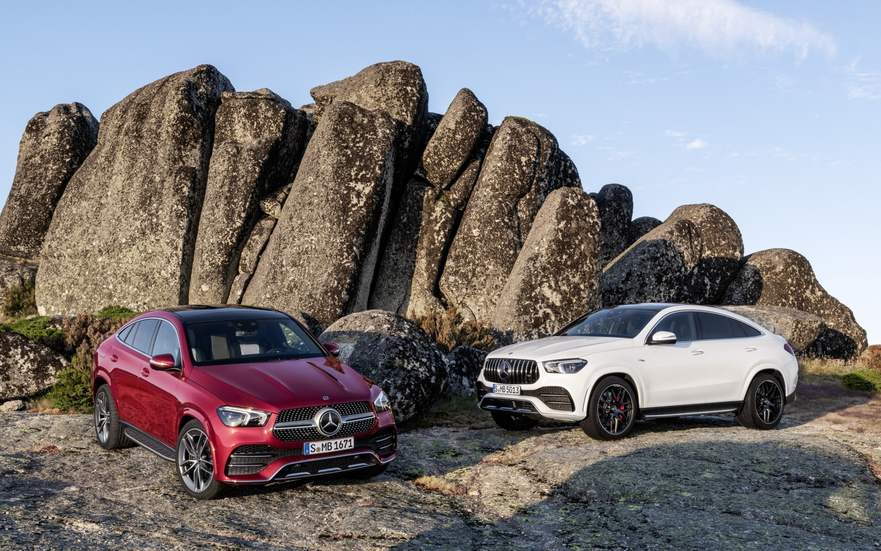 Mercedes Benz GLE AMG Coupe wallpaper 2880x1800
