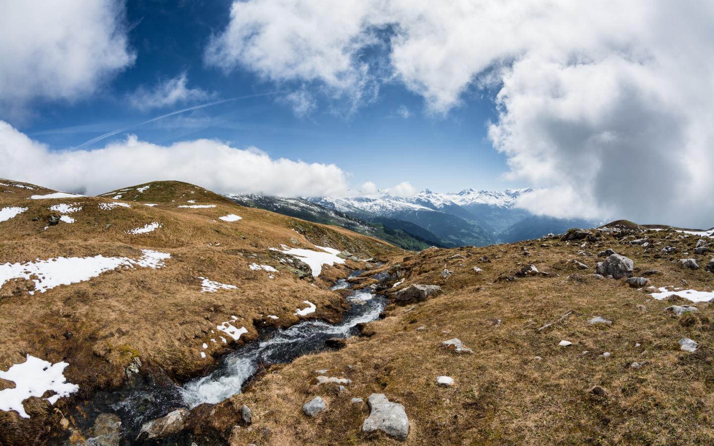 Download Wallpaper Alps Landscape 1440x900
