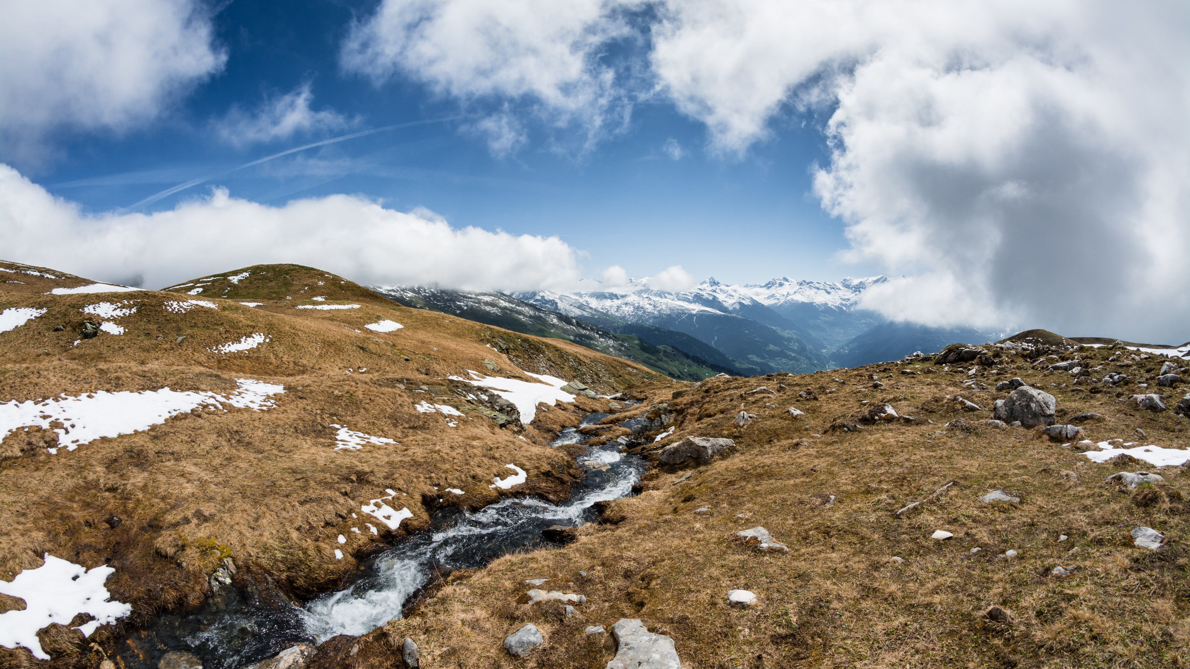 Download Wallpaper Alps Landscape 3840x2160