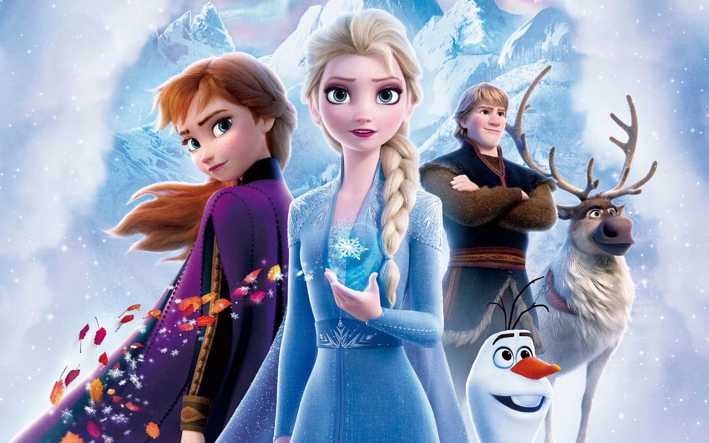 Frozen 2 wallpaper 1440x900