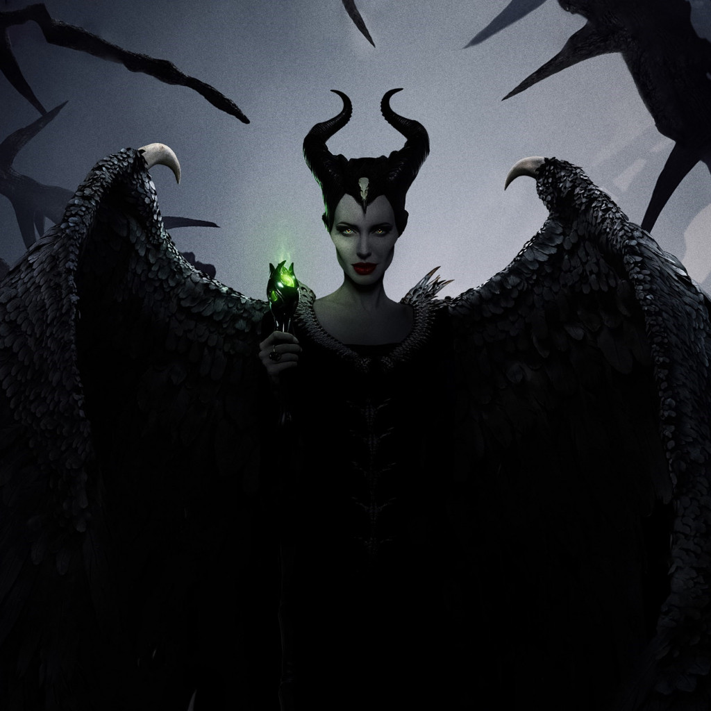 Maleficent: Mistress of Evil poster wallpaper 1024x1024