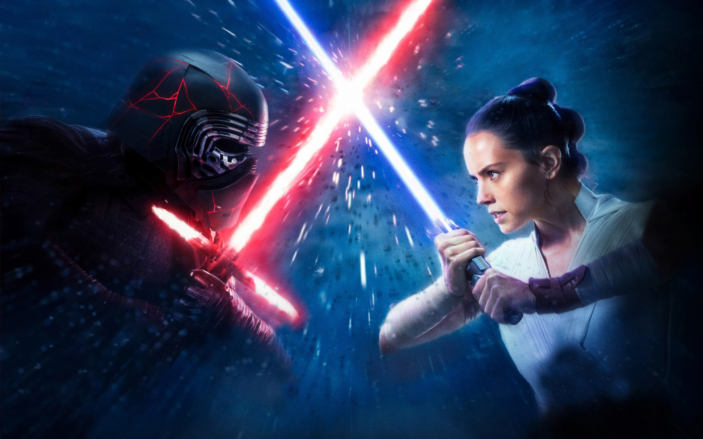 Download Wallpaper Star Wars The Rise Of Skywalker New Poster 1440x900