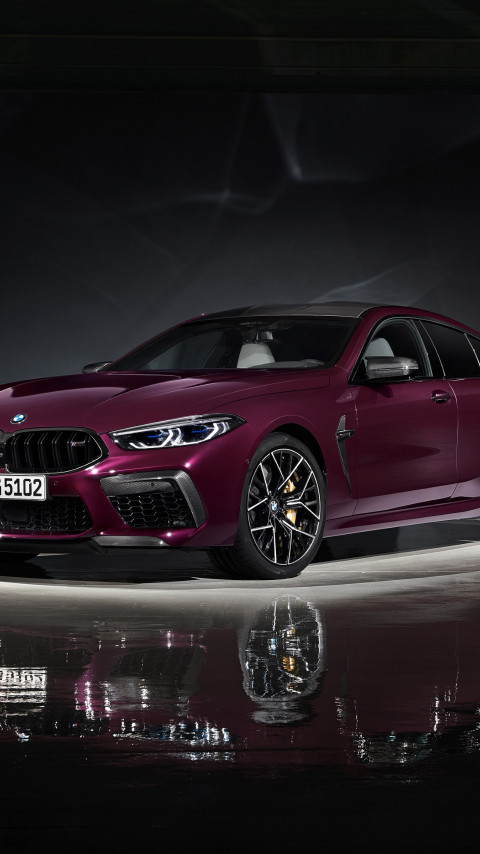 BMW M8 Competition Gran Coupe wallpaper 480x854