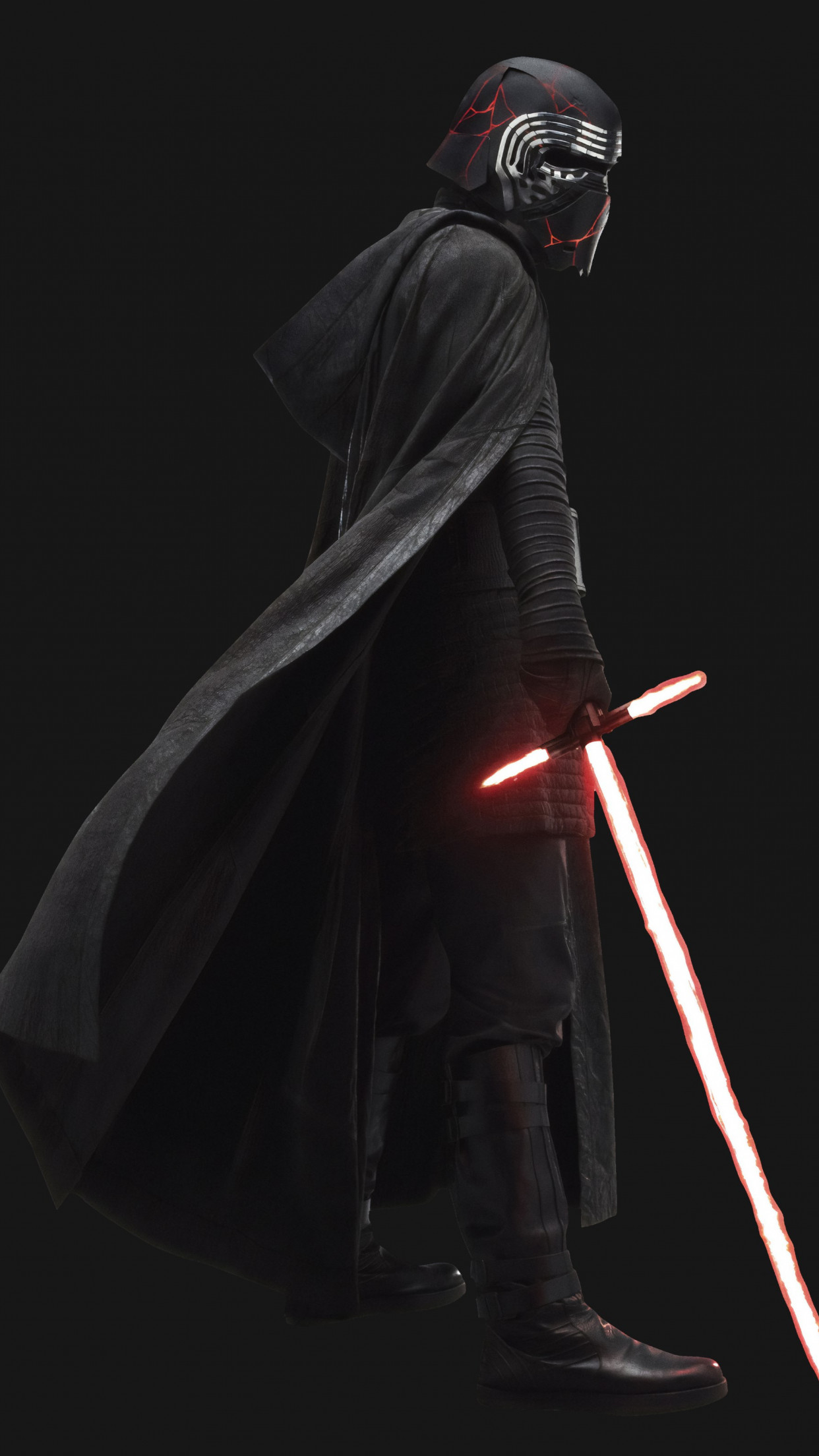 Kylo Ren in Star Wars: The Rise of Skywalker wallpaper 1242x2208