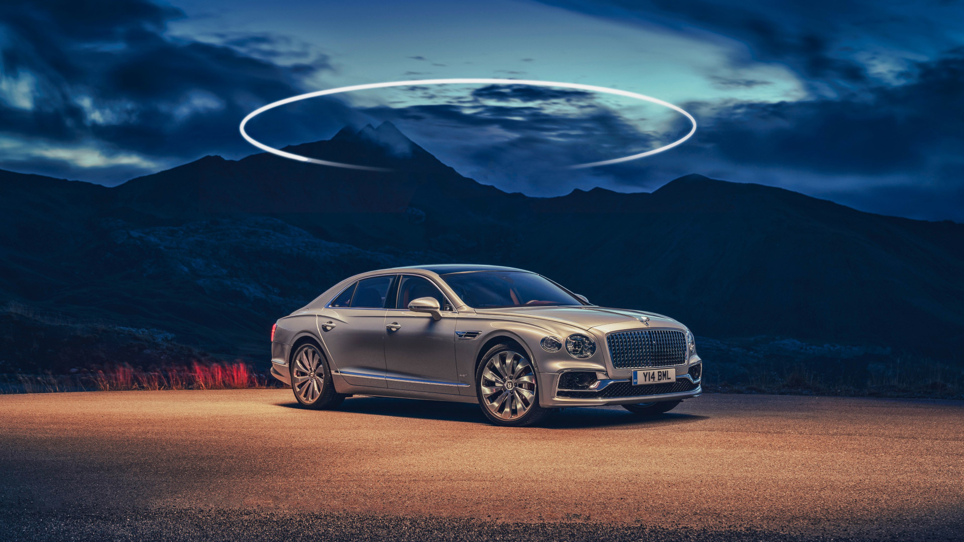 Bentley Flying Spur wallpaper 1920x1080