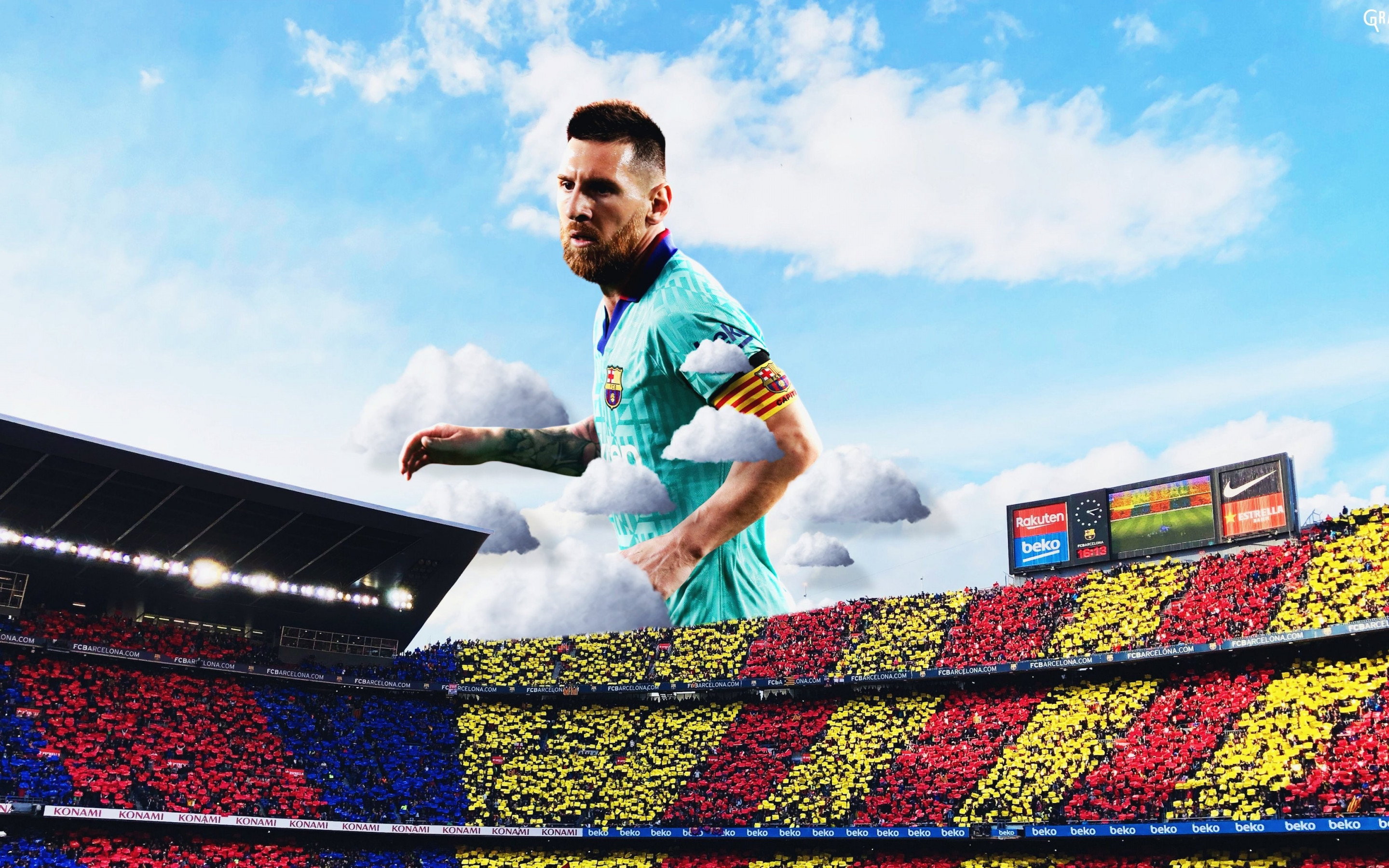 Lionel Messi wallpaper 2880x1800