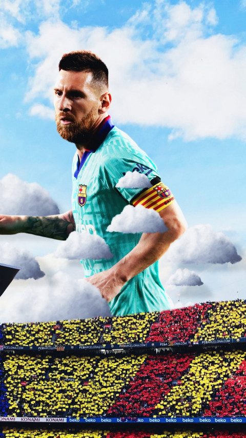 Lionel Messi wallpaper 480x854