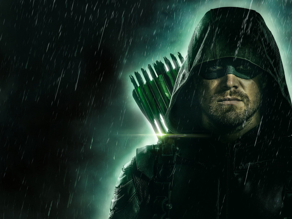 Arrow poster season 8 wallpaper 1024x768
