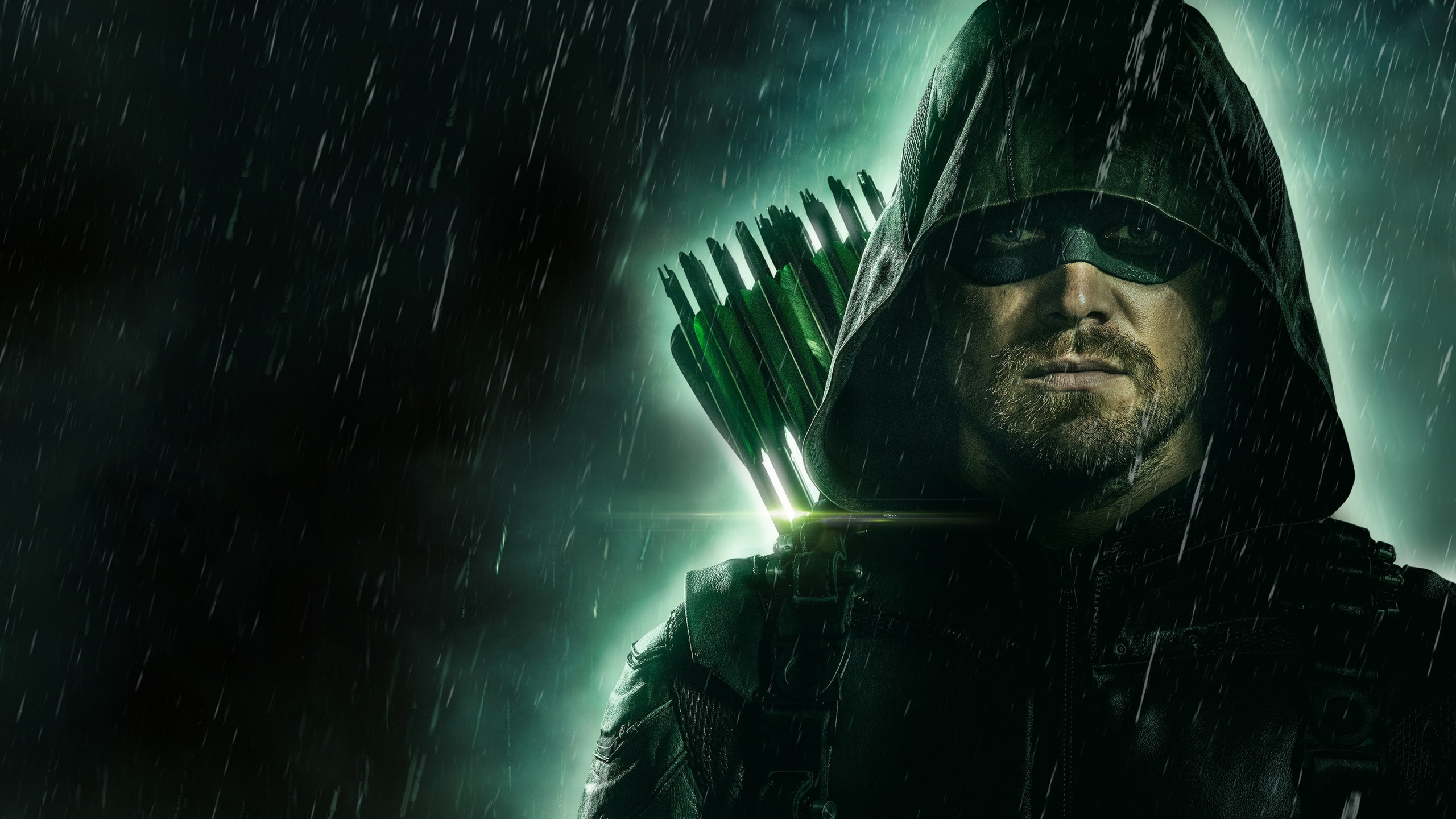 Arrow poster season 8 wallpaper 2560x1440