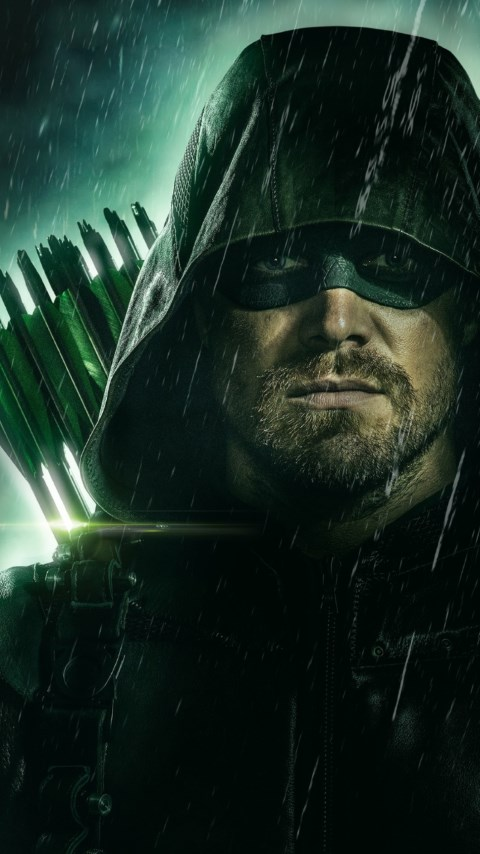 Arrow poster season 8 wallpaper 480x854