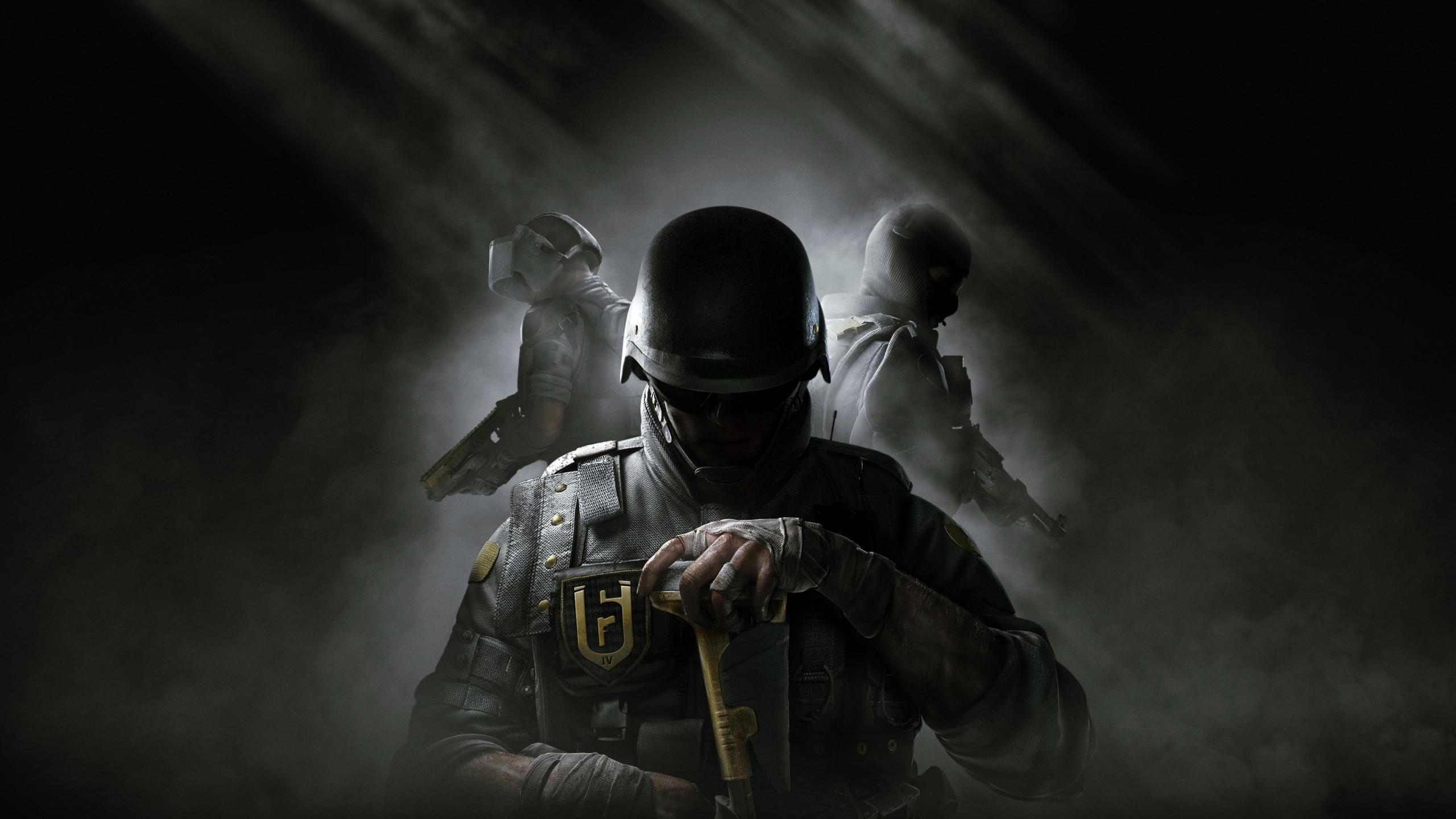 Download wallpaper: Rainbow Six Siege 2560x1440