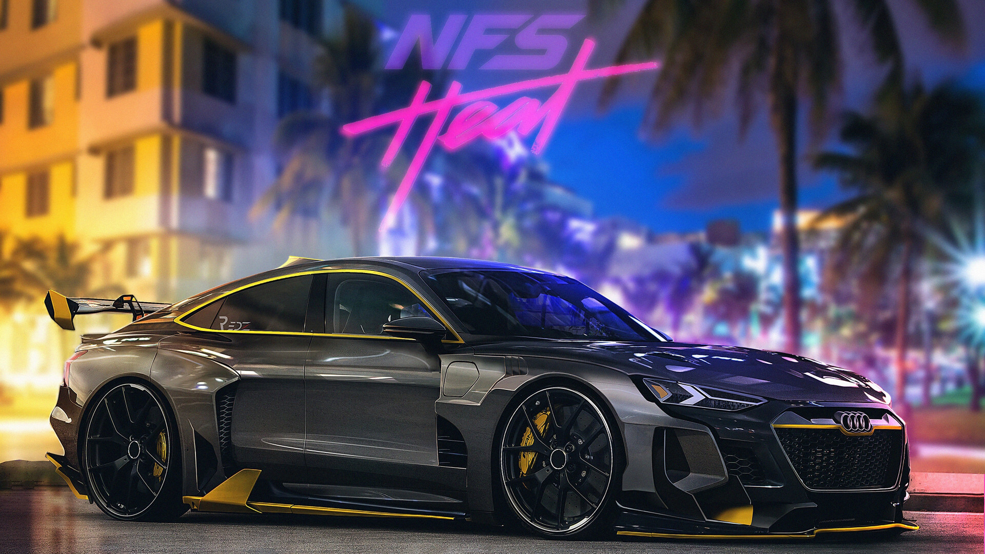 Download Wallpaper Audi In Need For Speed Heat 1920x1080