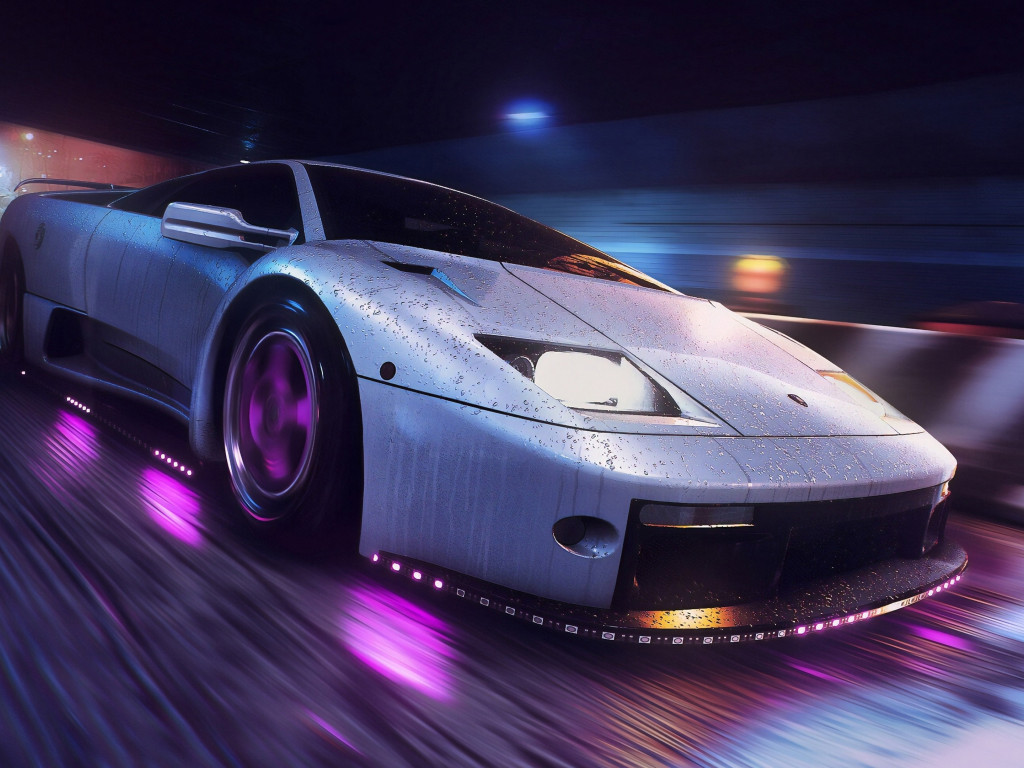 Need for Speed Heat wallpaper 1024x768