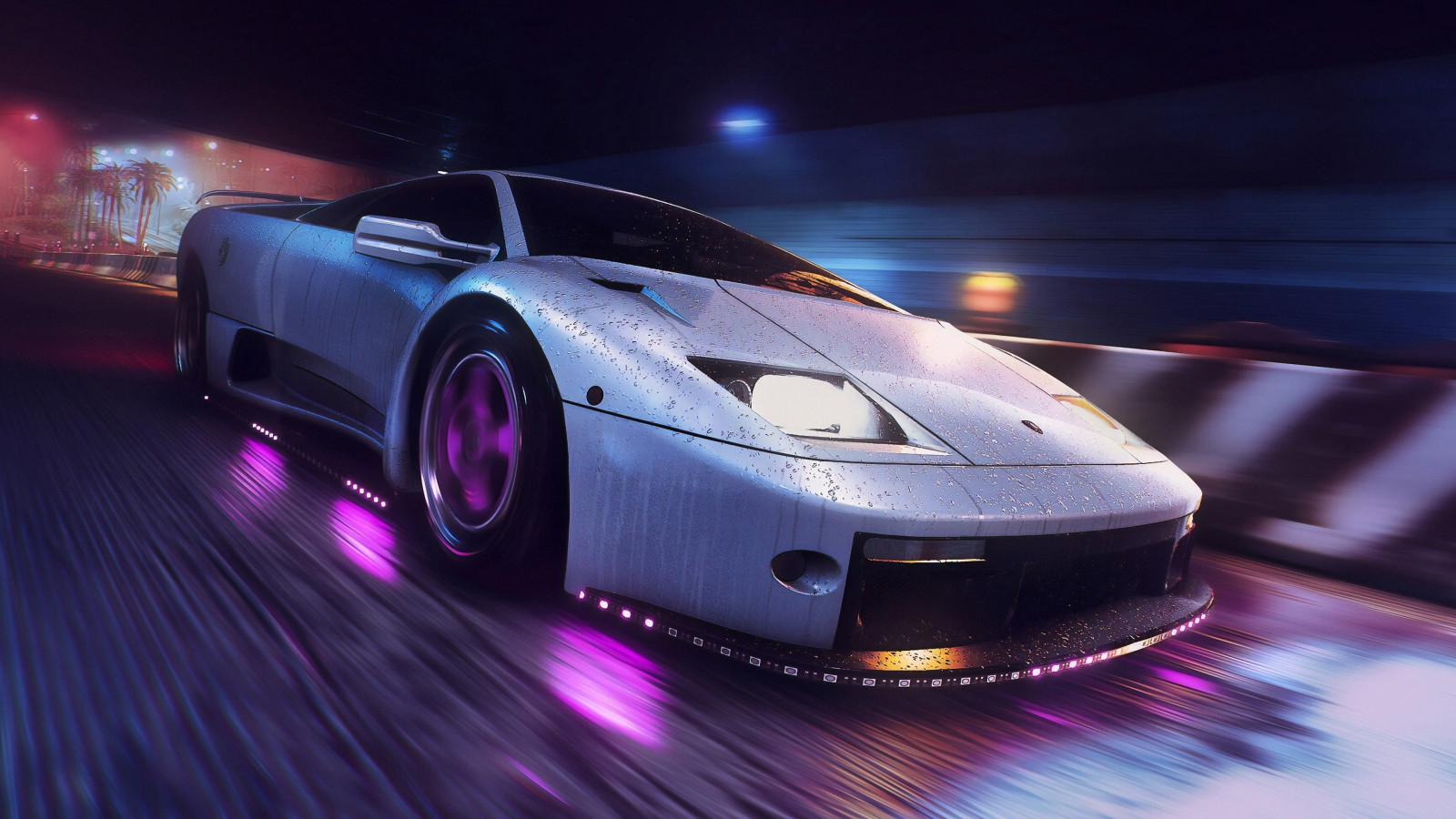 Need for Speed Heat wallpaper 1600x900