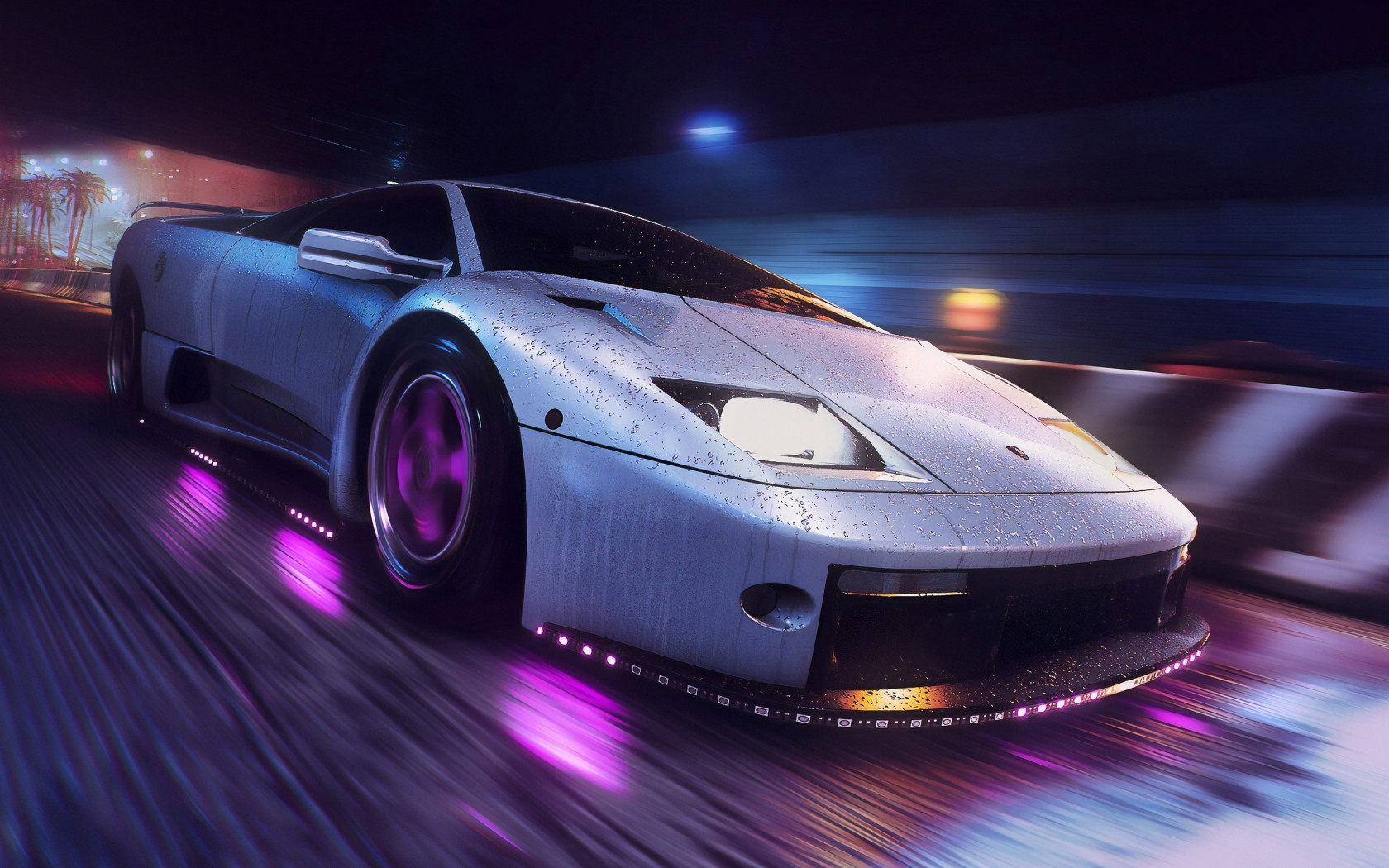 Need for Speed Heat wallpaper 1680x1050