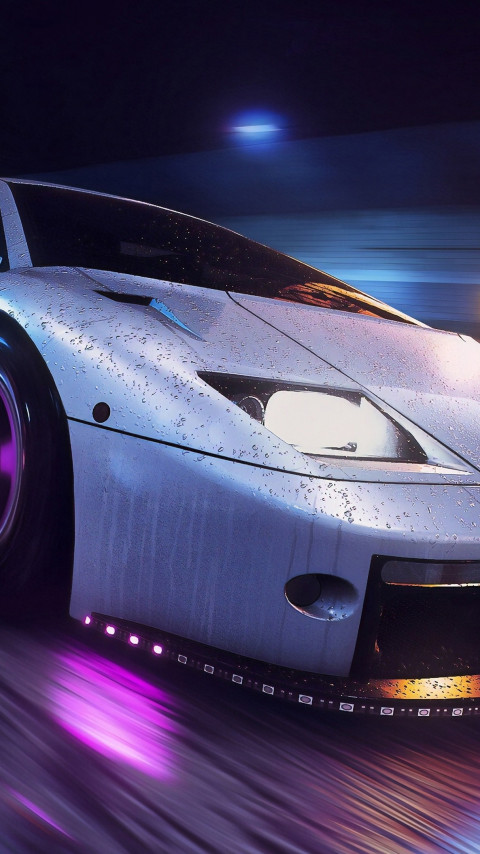 Need for Speed Heat wallpaper 480x854