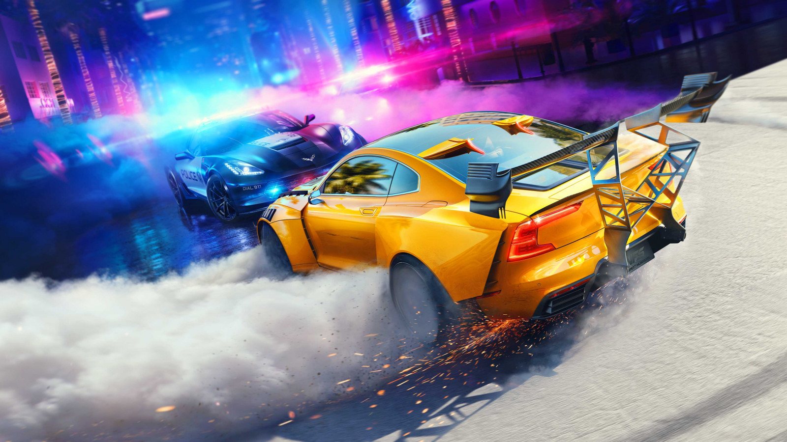 Need for Speed Heat screenshot wallpaper 1600x900