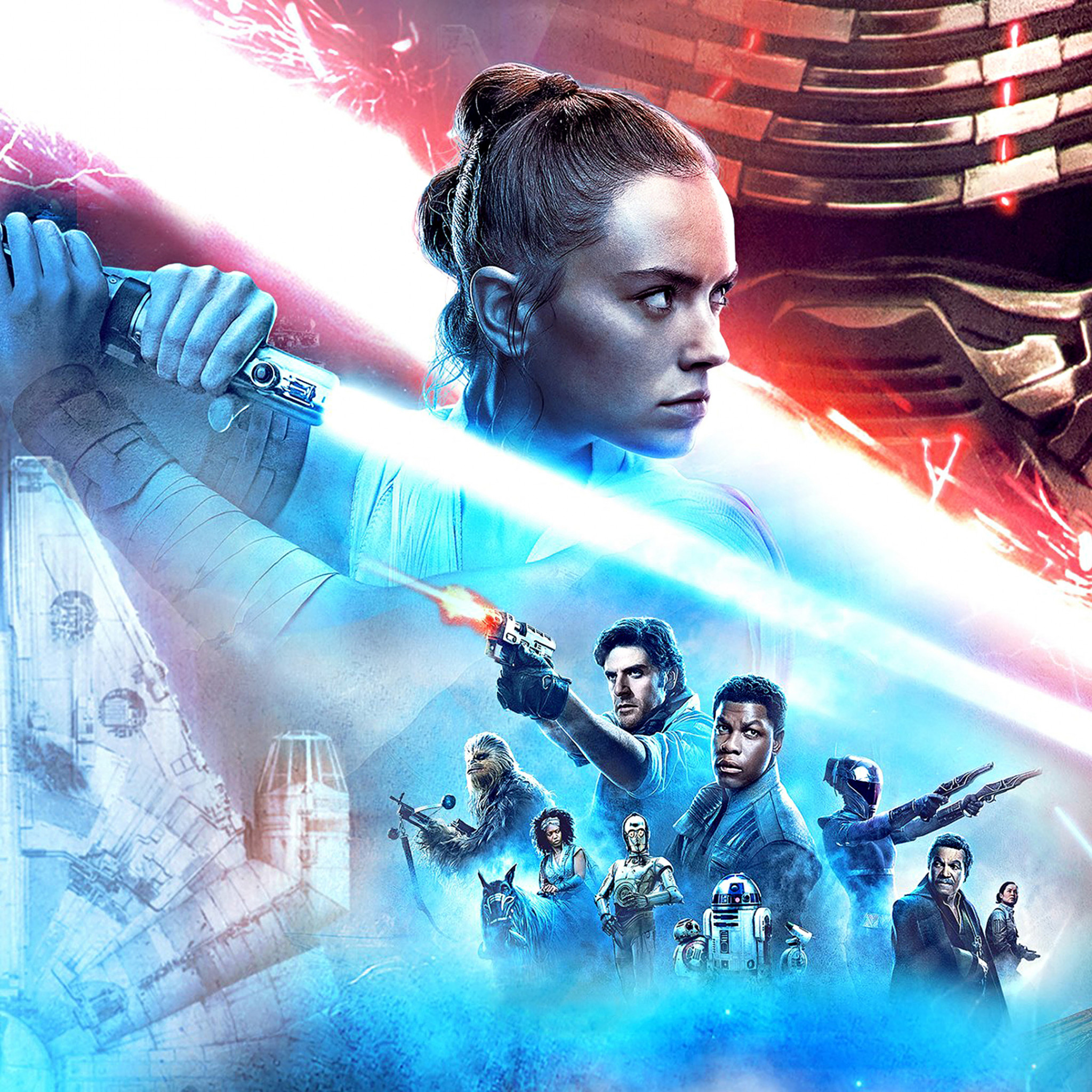 Download Wallpaper Episode Ix Star Wars The Rise Of Skywalker 2048x2048