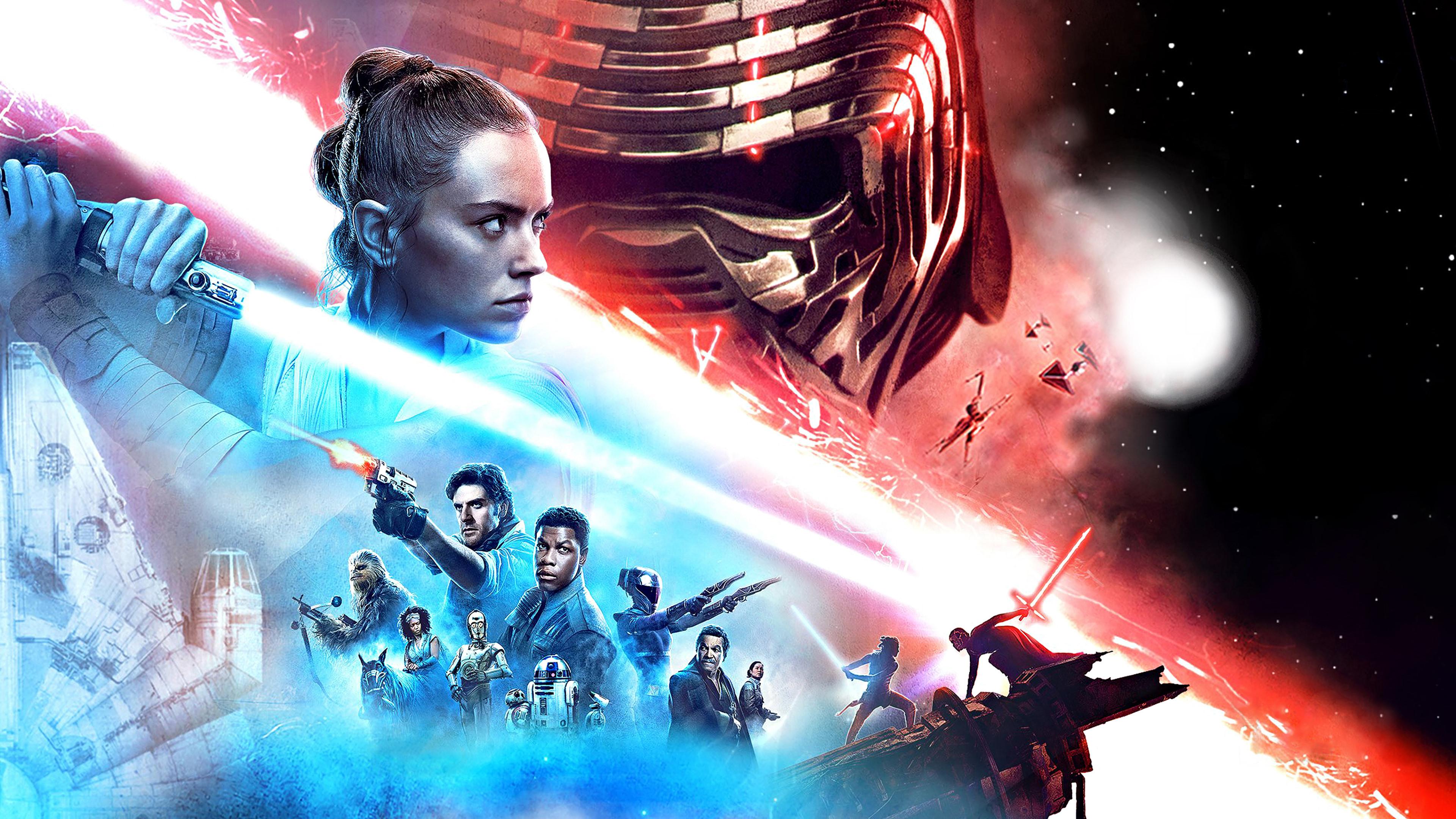 Download Wallpaper Episode Ix Star Wars The Rise Of Skywalker