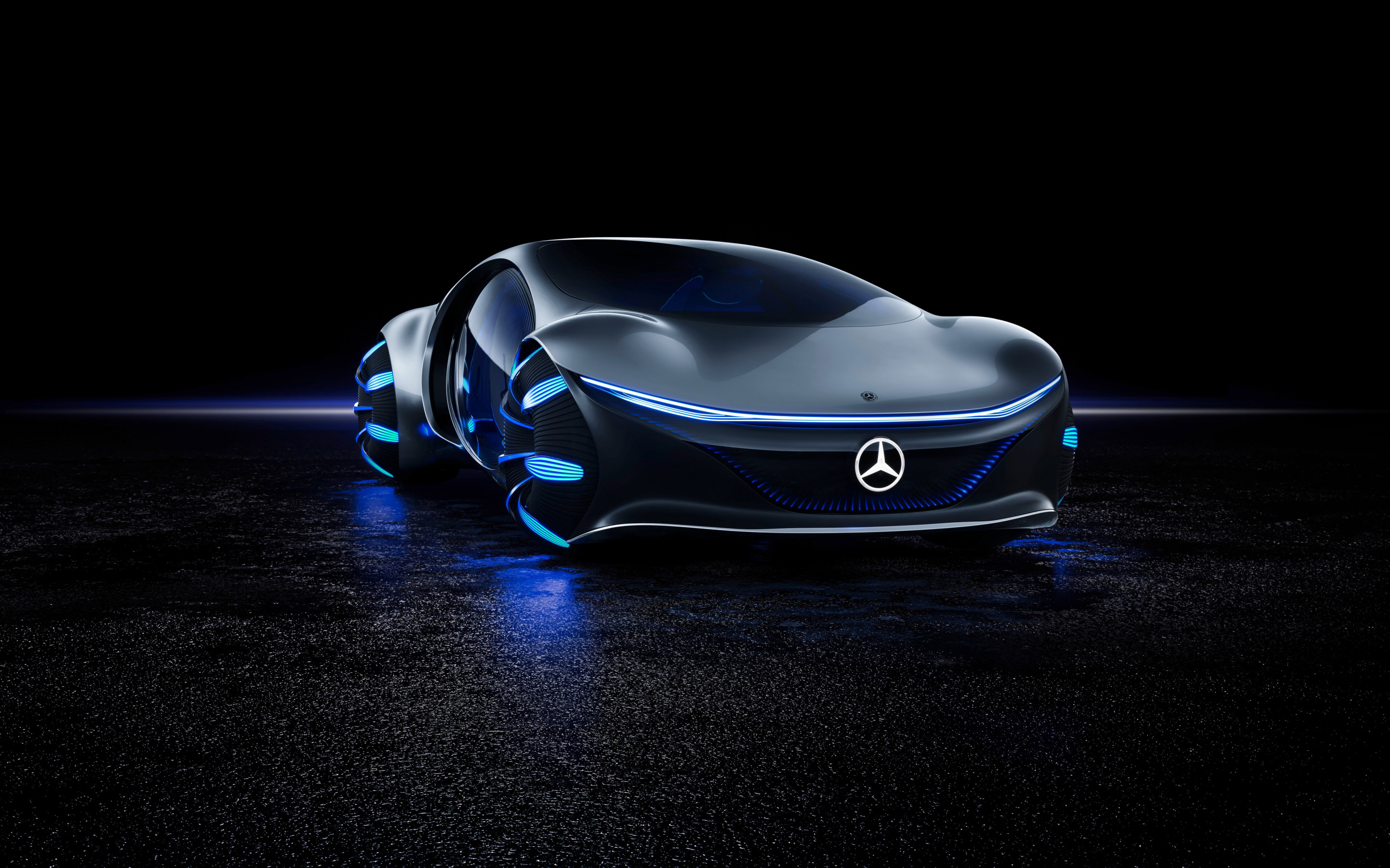 Mercedes Benz VISION AVTR front side wallpaper 2880x1800