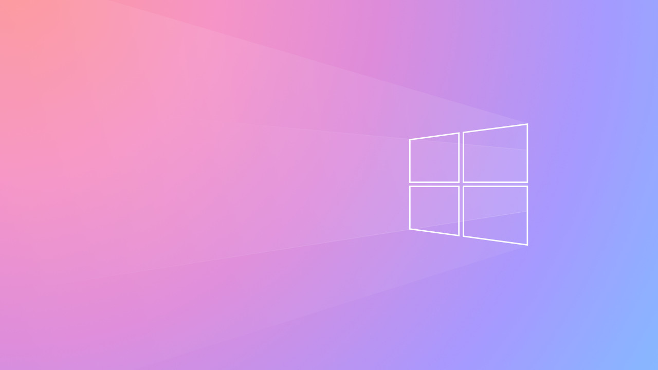 Download Wallpaper Windows Logo 2020 1280x720