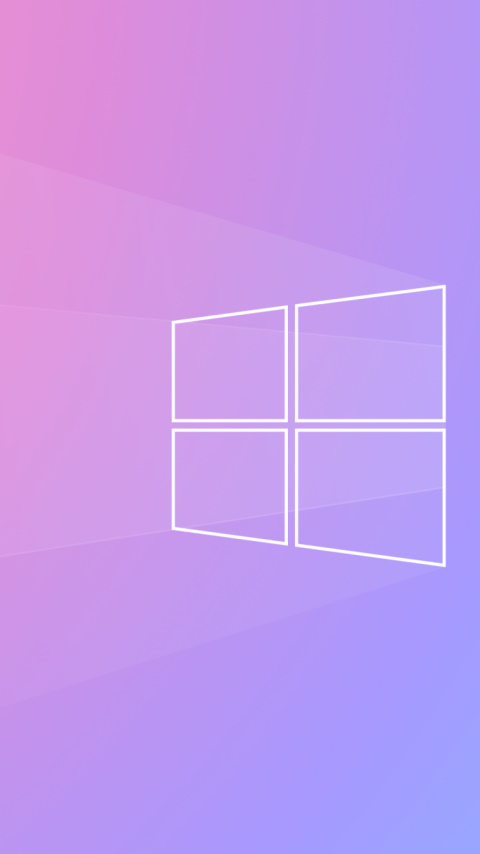 Windows Logo 2020 wallpaper 480x854