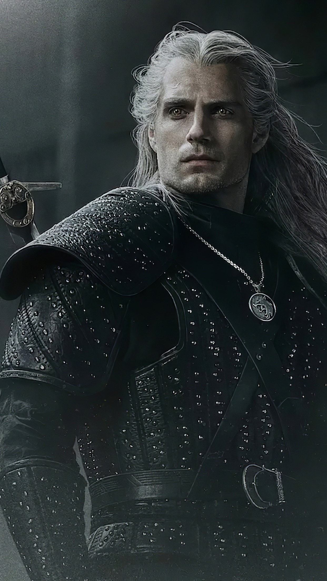 Henry Cavli in The Witcher wallpaper 1242x2208