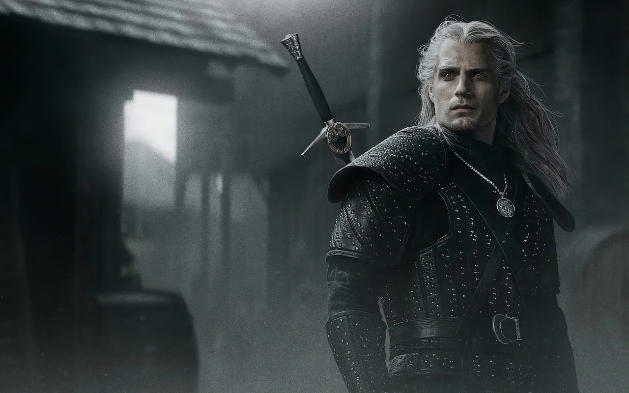 Henry Cavli in The Witcher wallpaper 1280x800