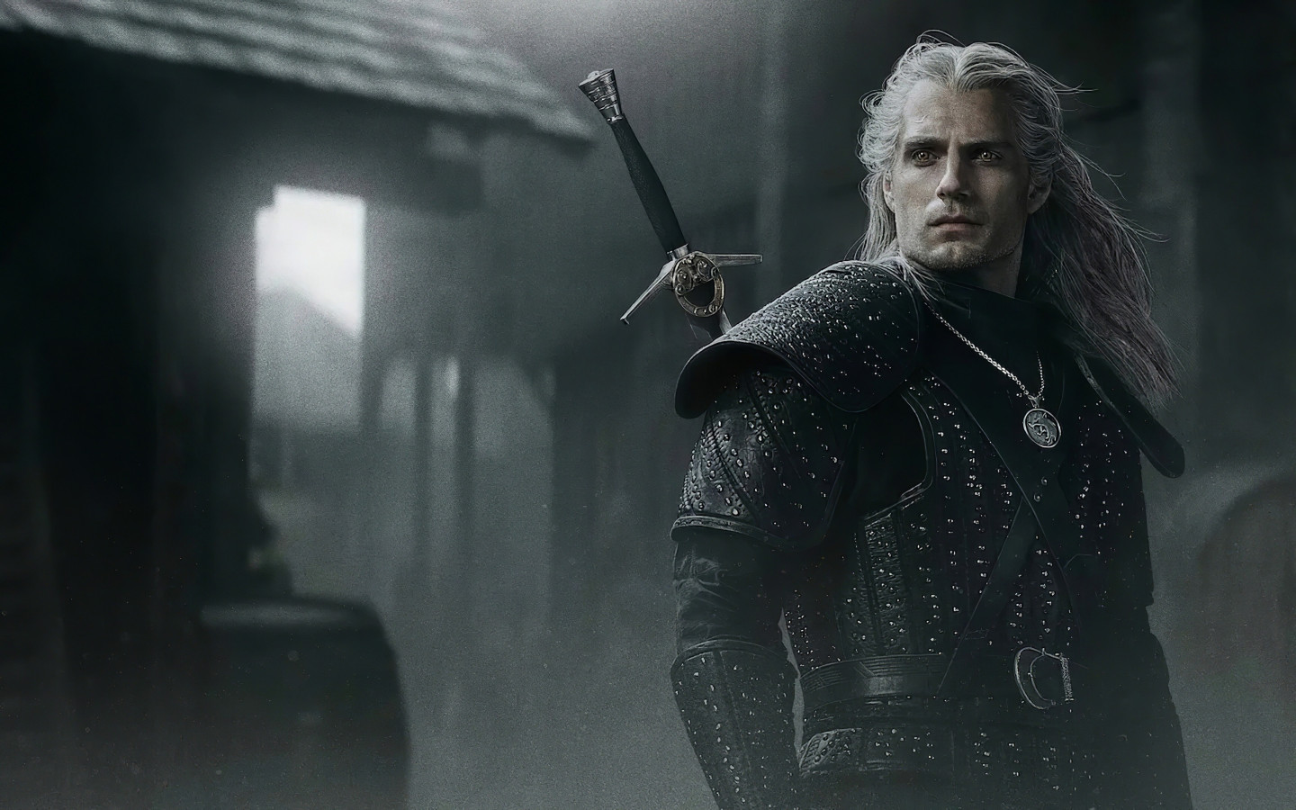 Henry Cavli in The Witcher wallpaper 1440x900
