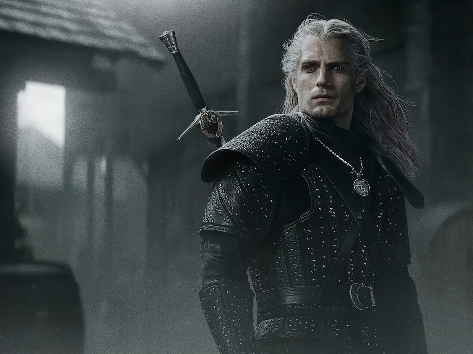 Henry Cavli in The Witcher wallpaper 1600x1200