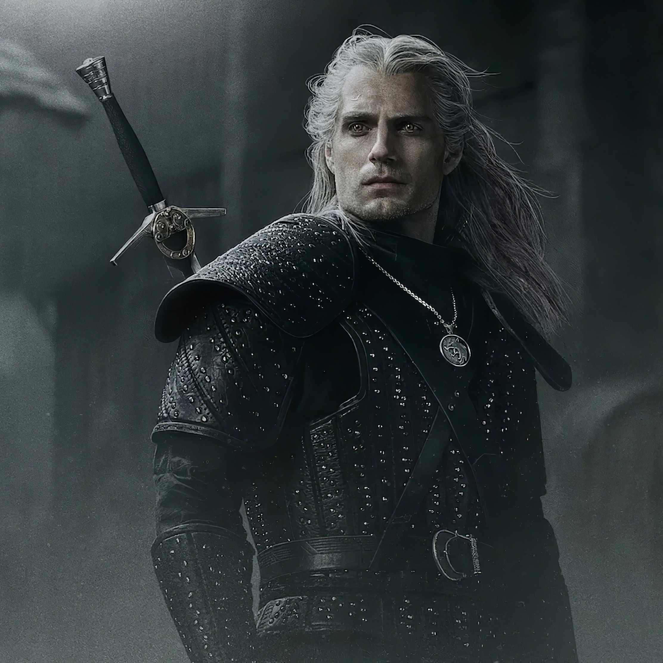 Henry Cavli in The Witcher wallpaper 2224x2224