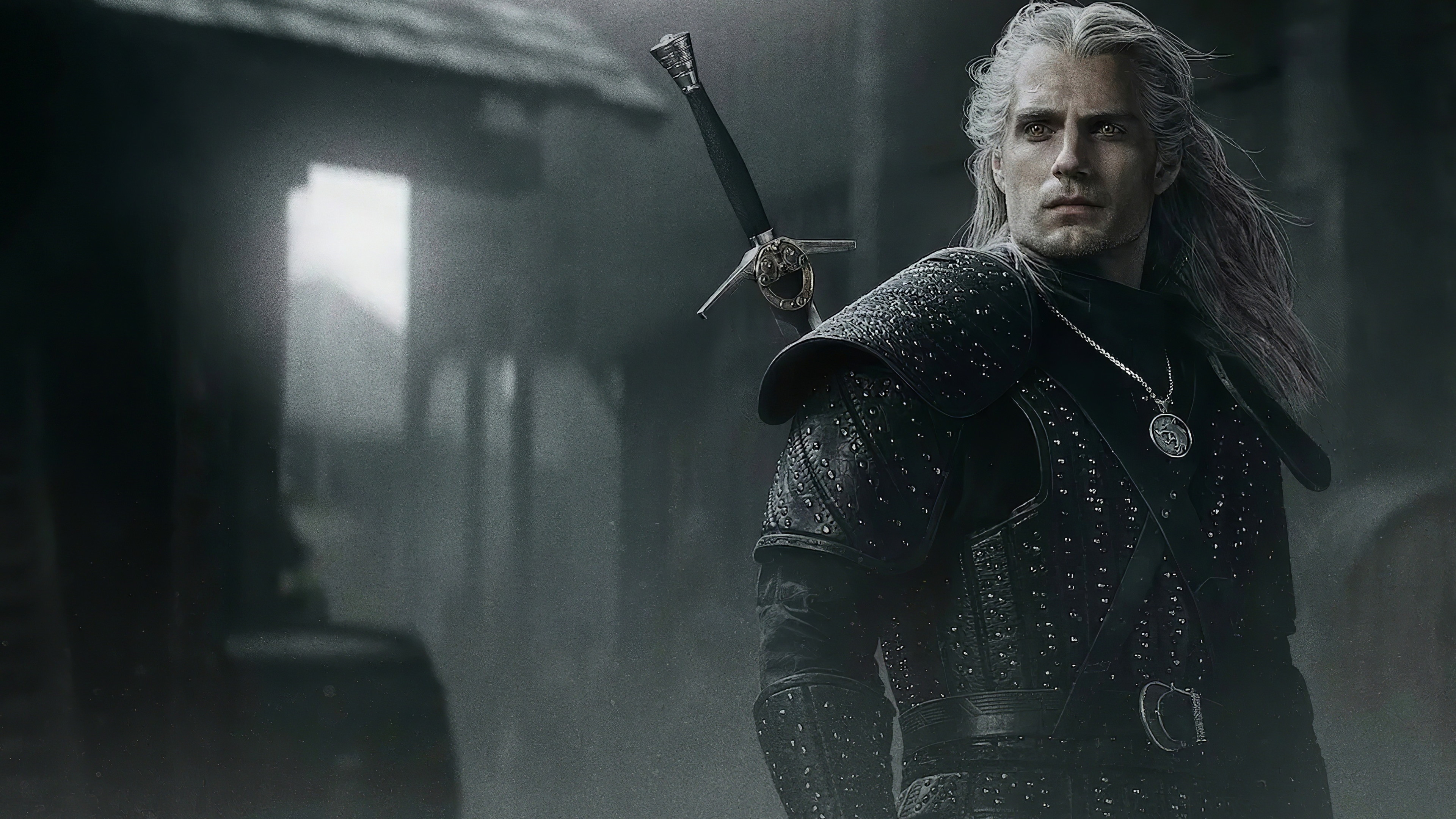 Henry Cavli in The Witcher wallpaper 3840x2160