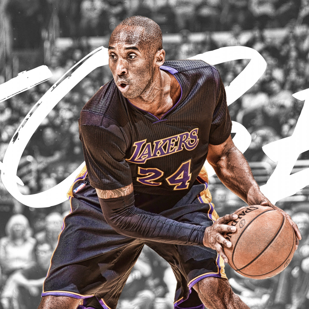 RIP Kobe Bryant wallpaper 1024x1024