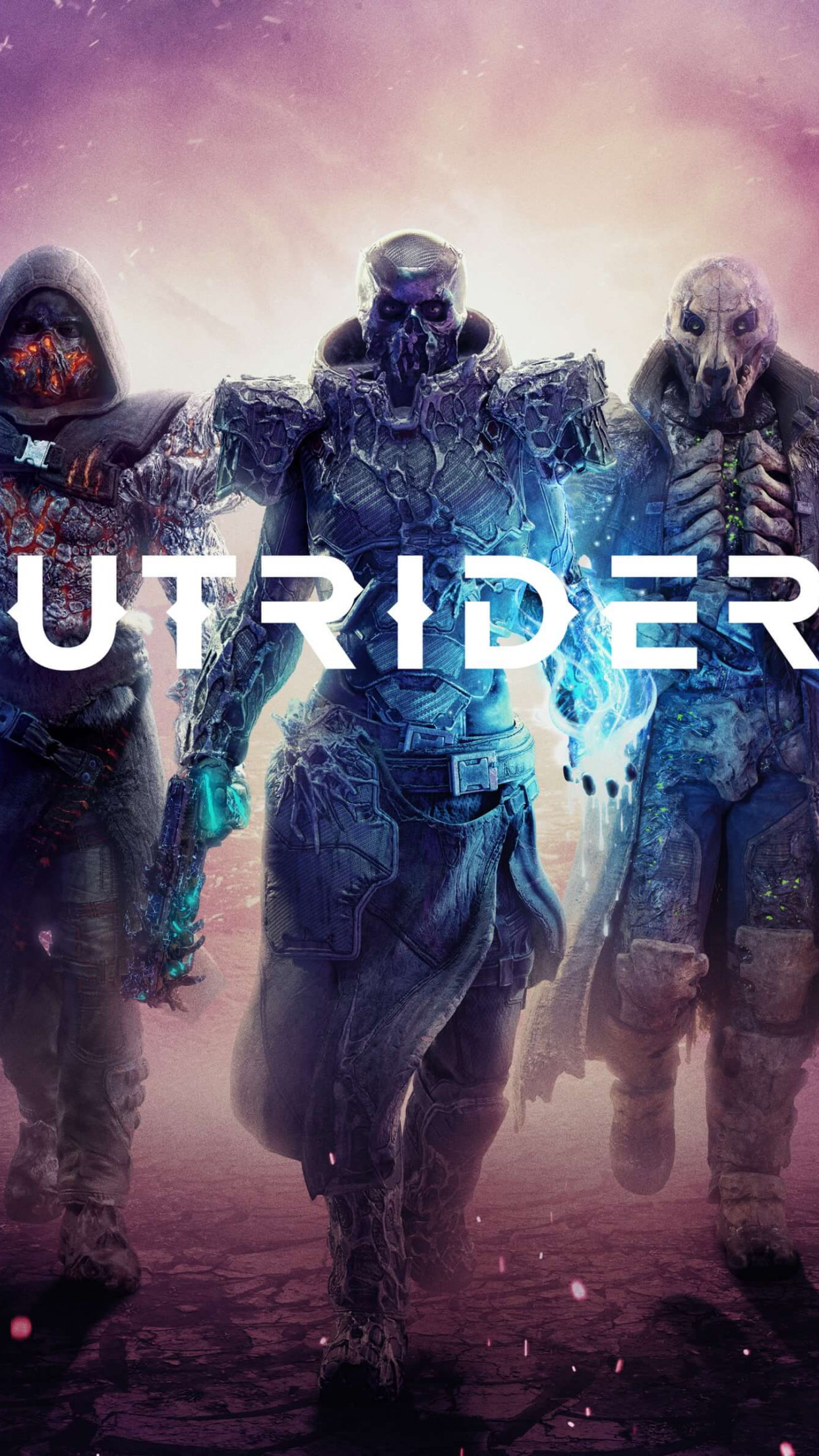 Outriders wallpaper 1242x2208