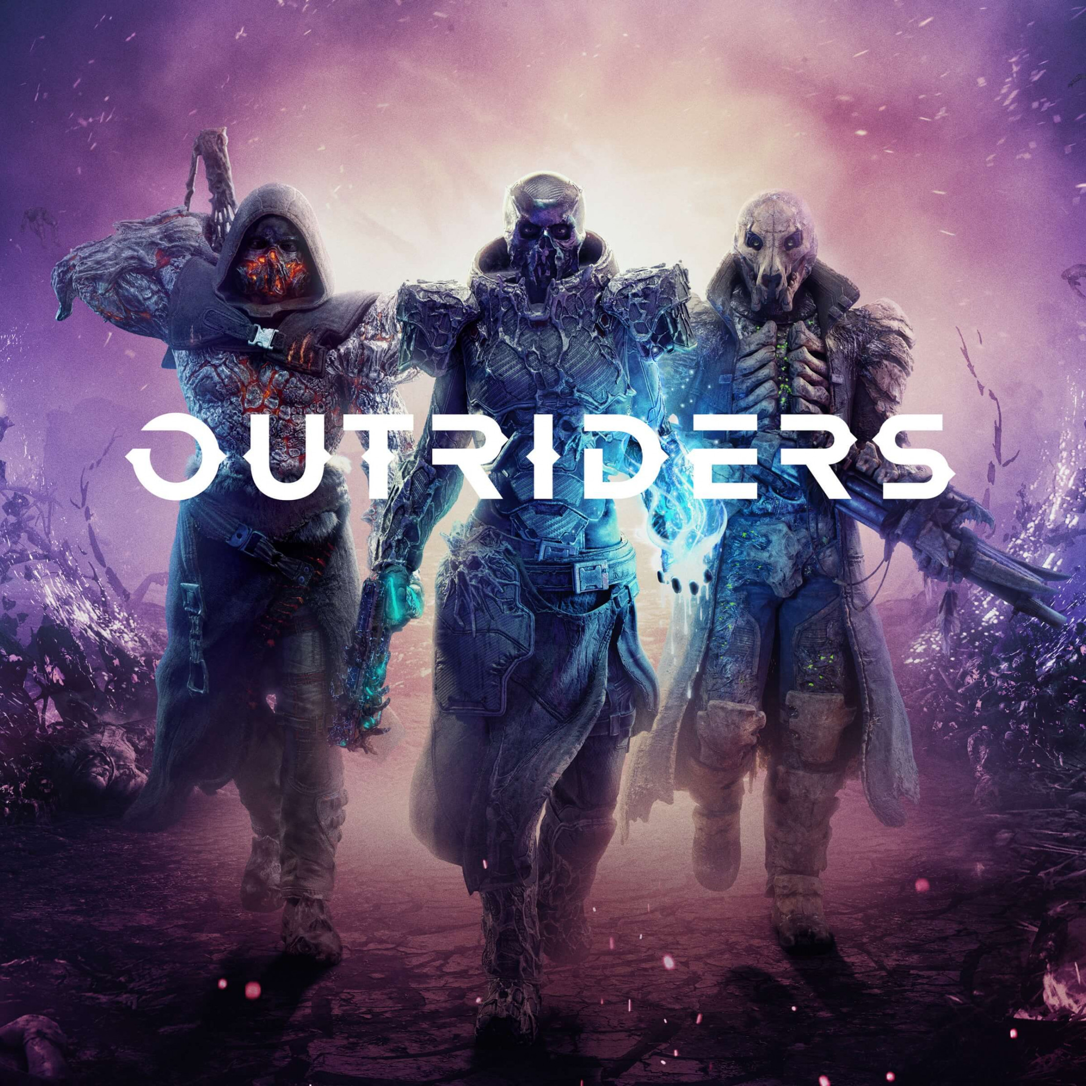 Outriders wallpaper 2224x2224