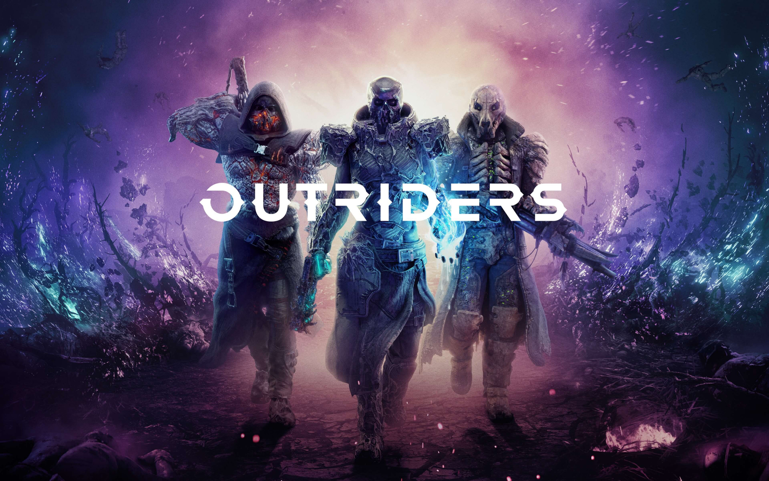 Outriders wallpaper 2560x1600