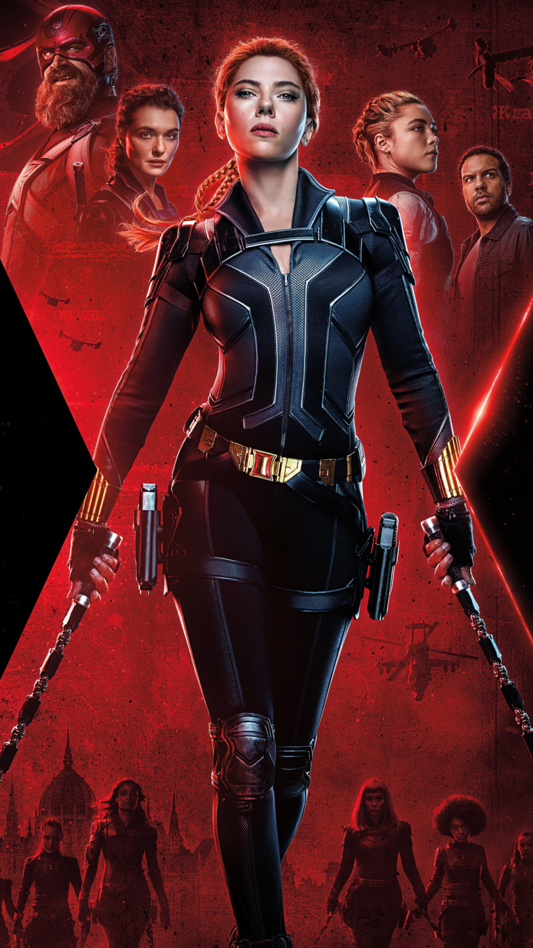 Black Widow wallpaper 1080x1920