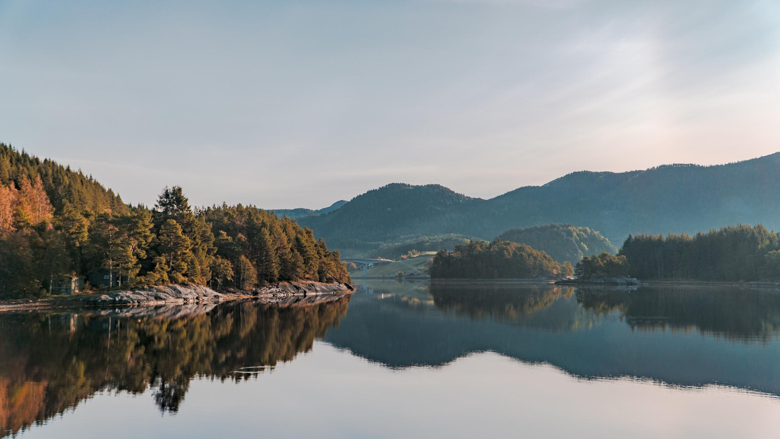 Download Wallpaper Nature In Norway 2560x1440