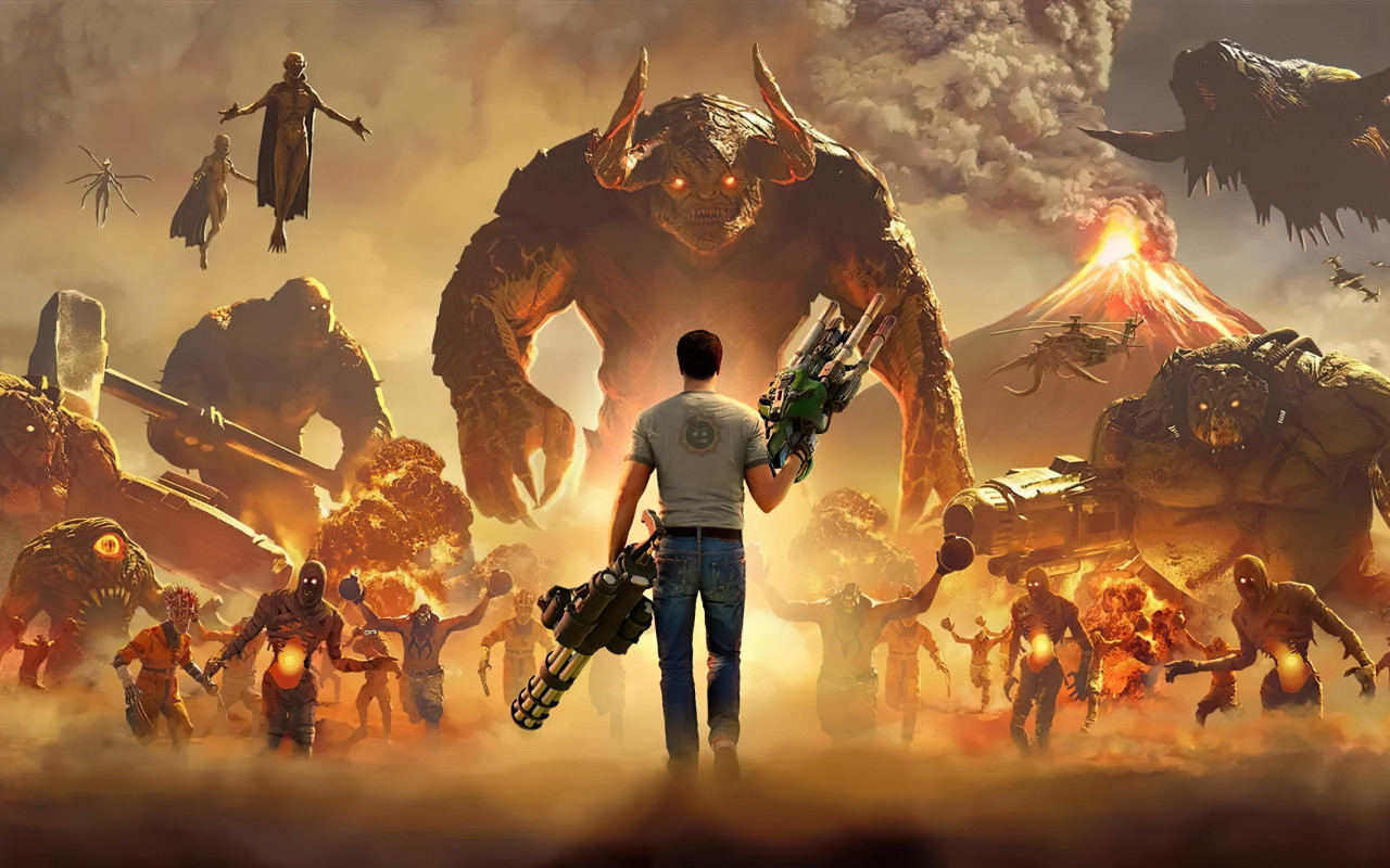 Serious Sam 4 wallpaper 1280x800