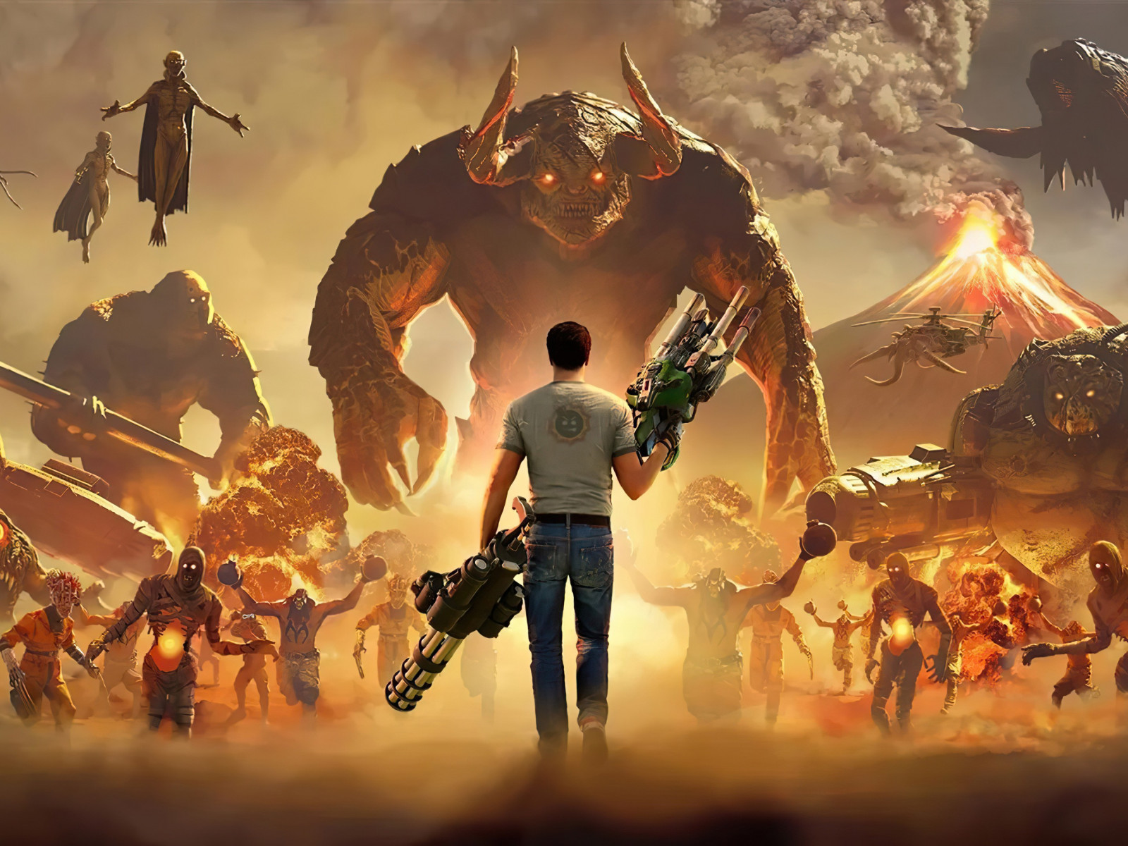 Serious Sam 4 wallpaper 1600x1200