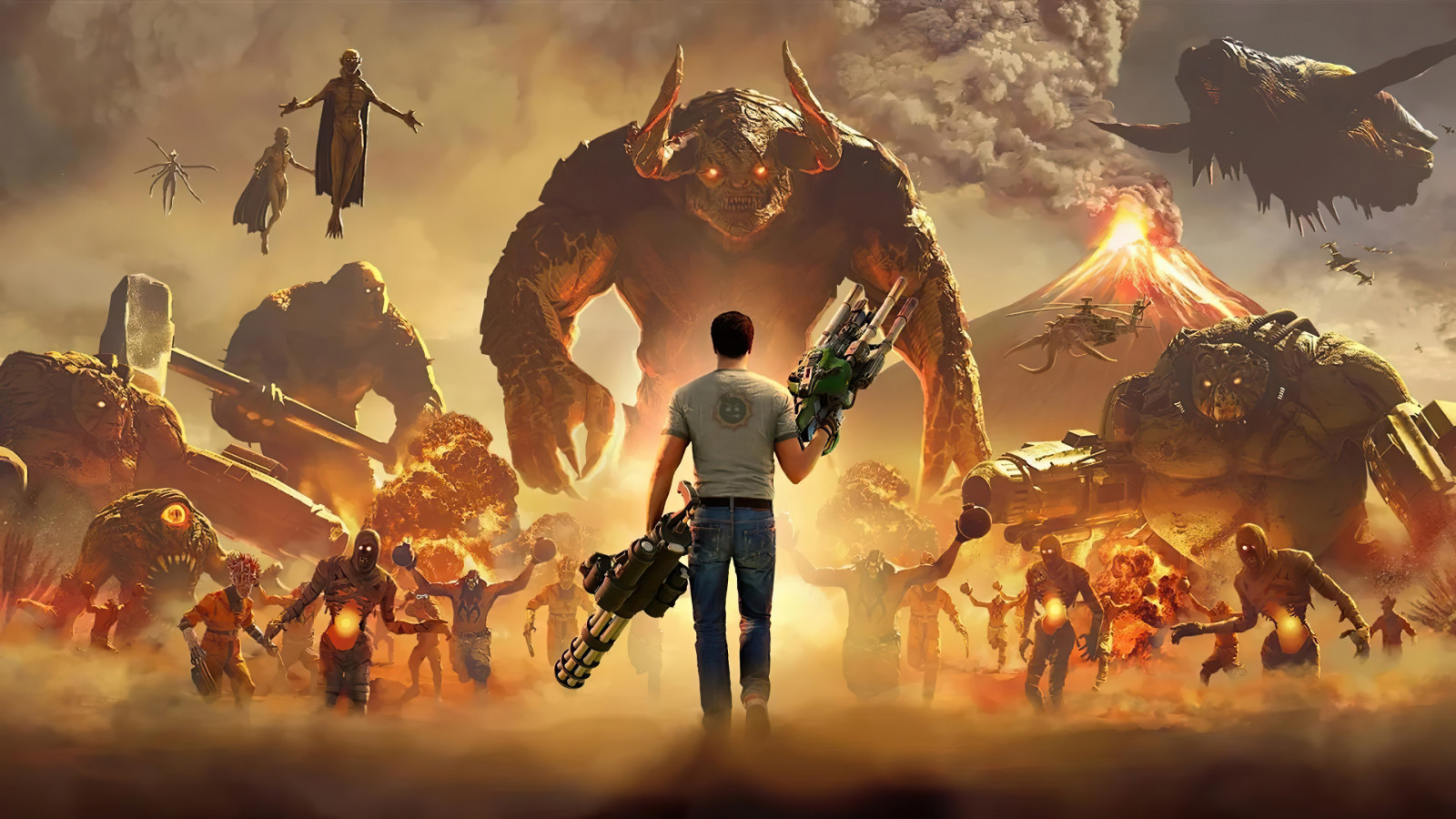 Serious Sam 4 wallpaper 1600x900