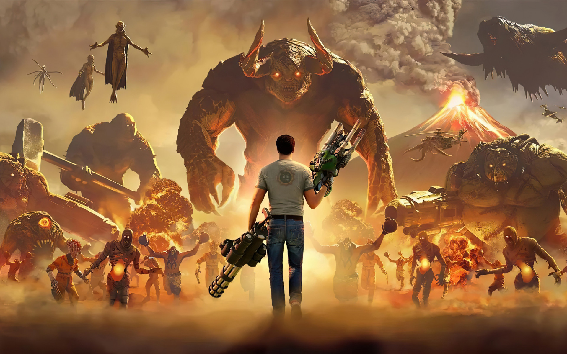 Serious Sam 4 wallpaper 1920x1200