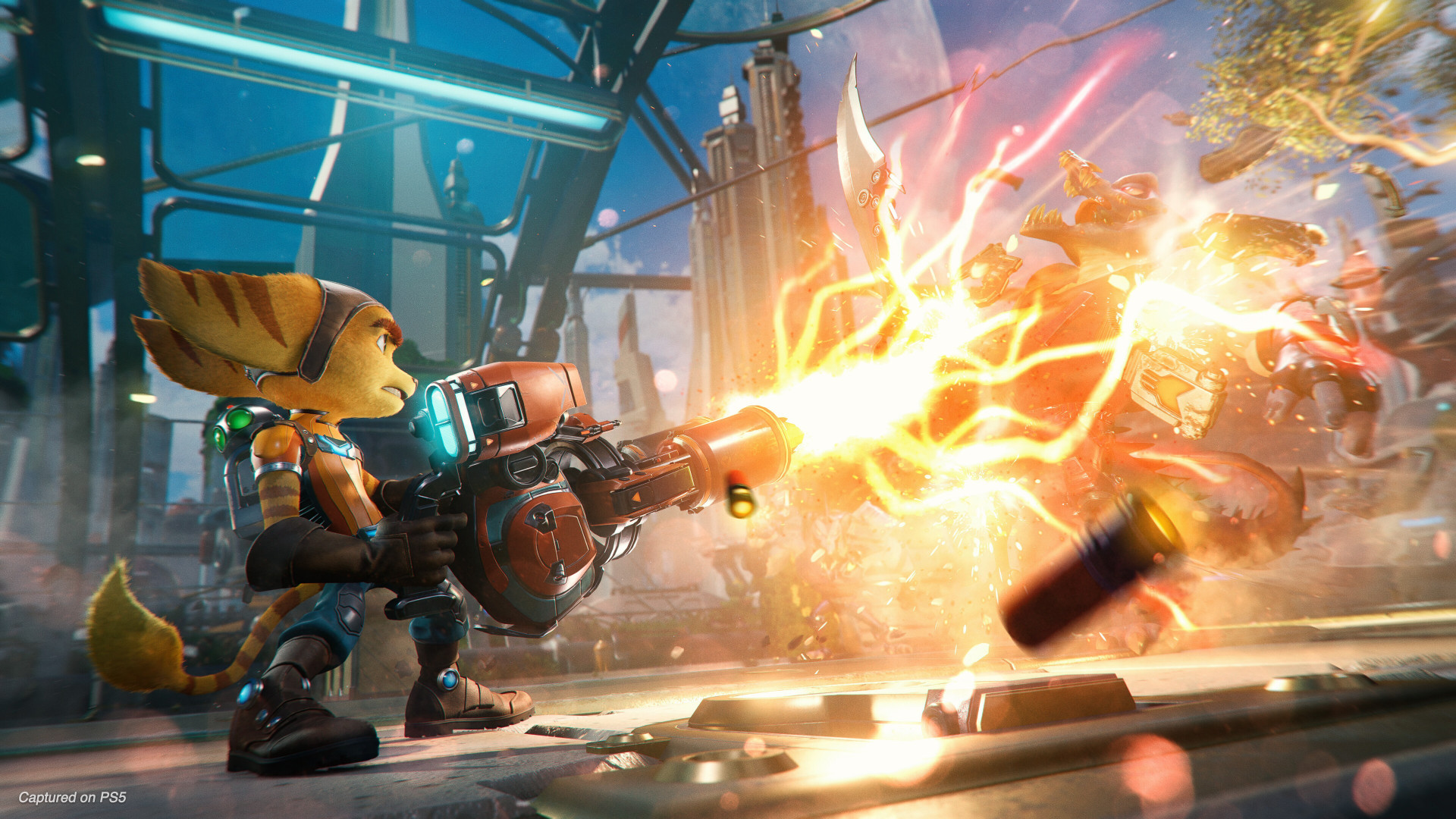 Download wallpaper: Ratchet and Clank: Rift Apart 1920x1080