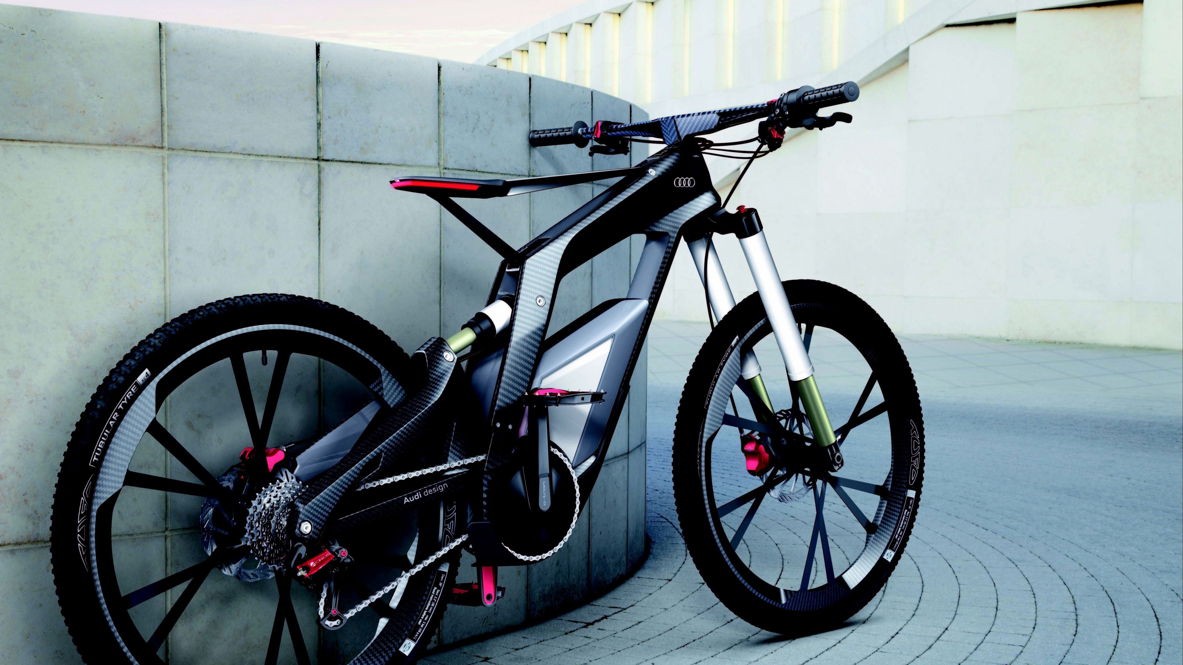 Audi e Bike wallpaper 3840x2160