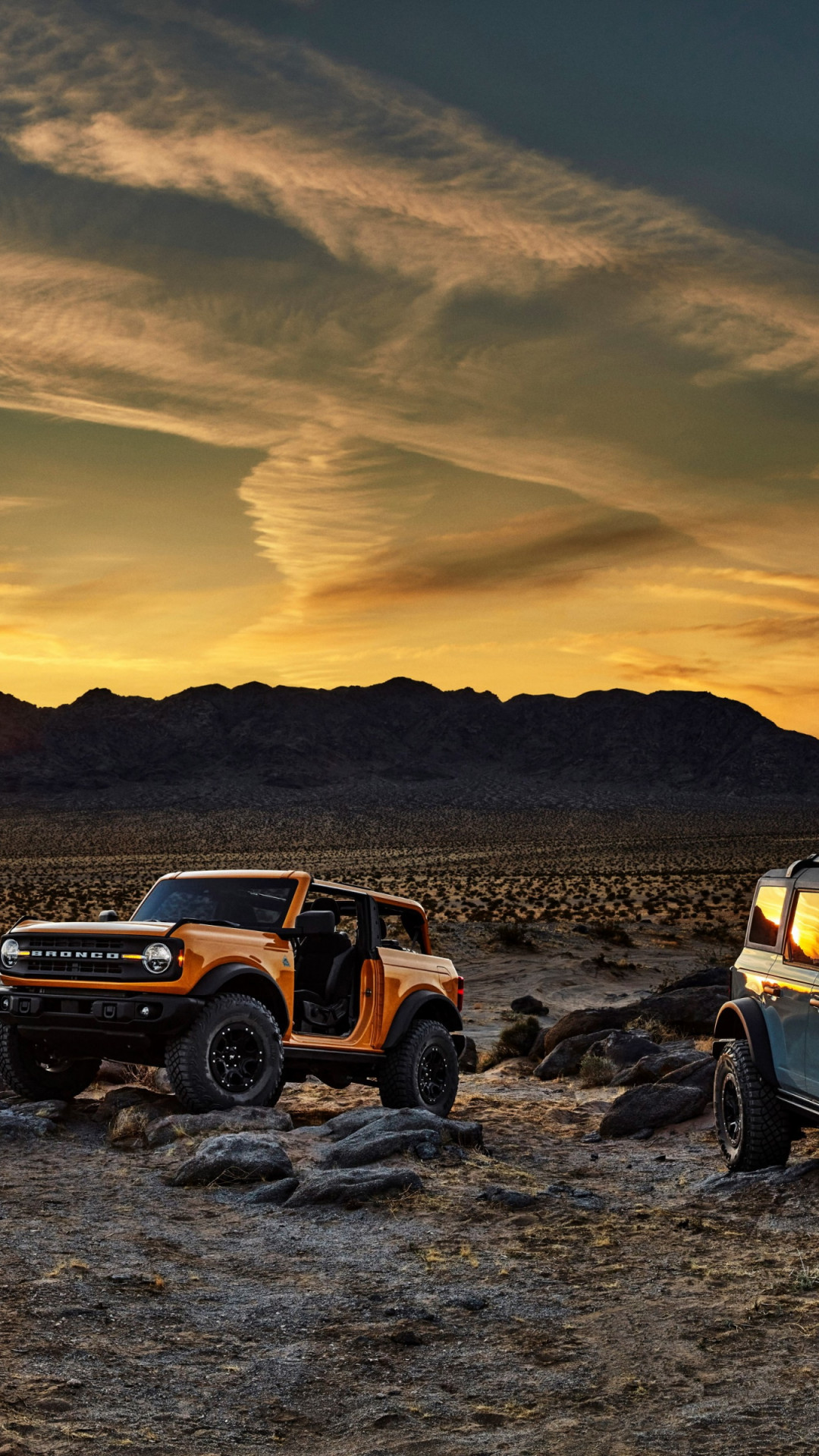 Download wallpaper: Ford Bronco 1080x1920