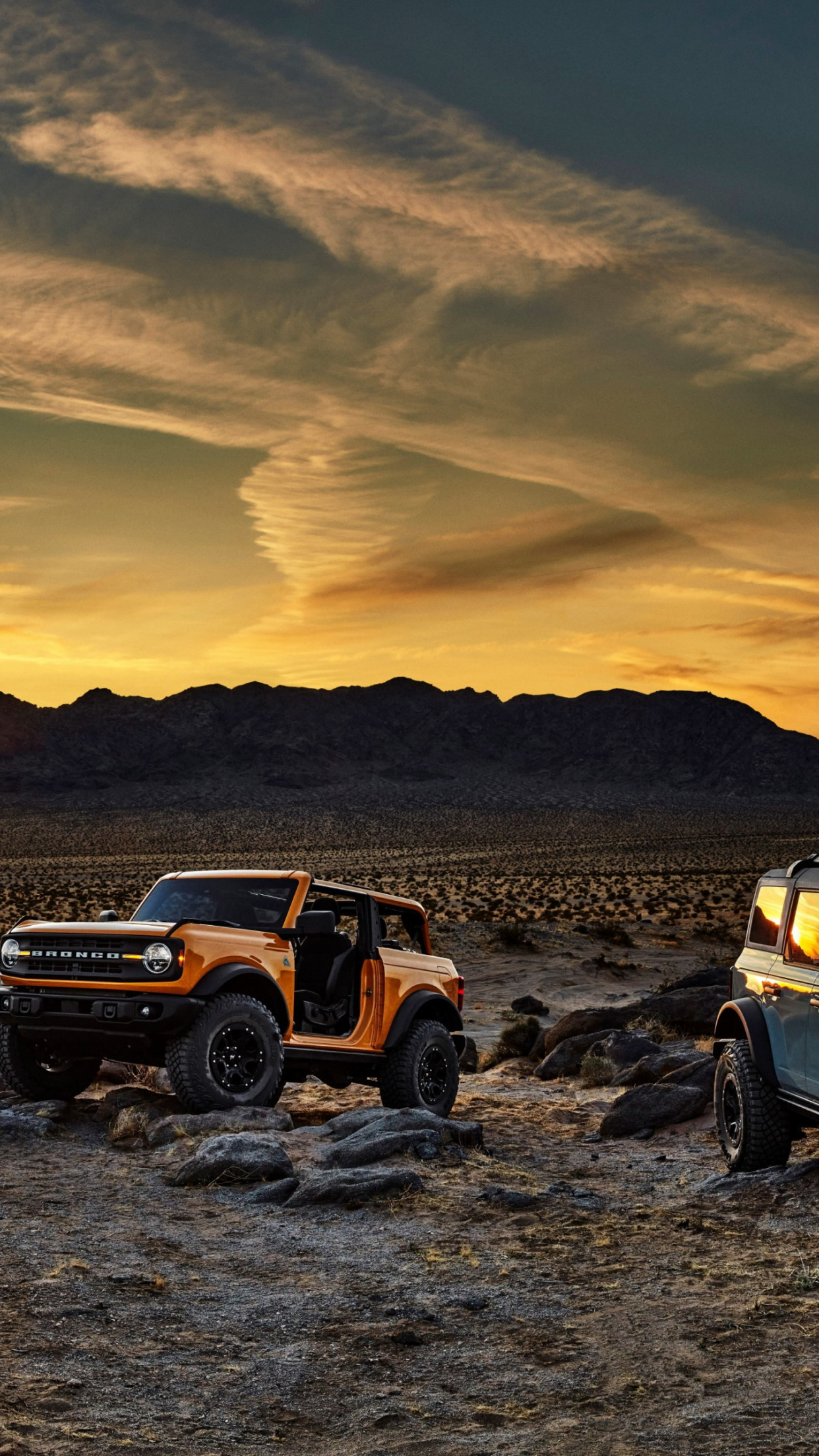 Download wallpaper: Ford Bronco 1242x2208