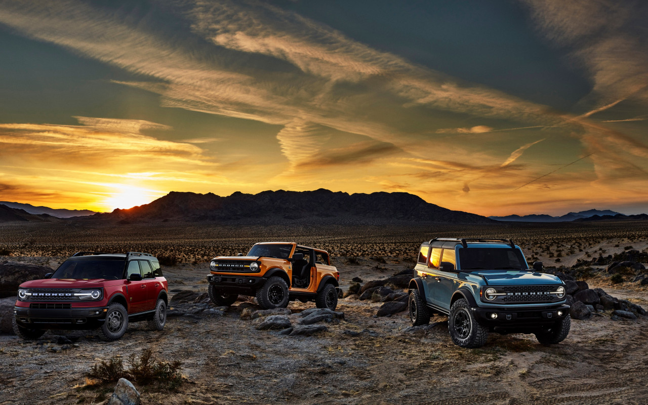Ford Bronco wallpaper 1280x800