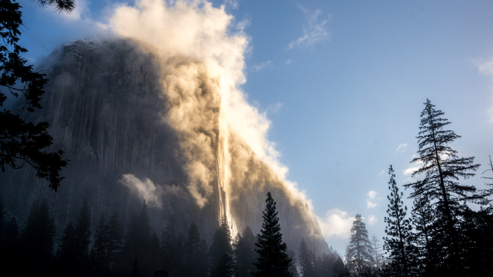 El Capitan, Yosemite wallpaper 1600x900