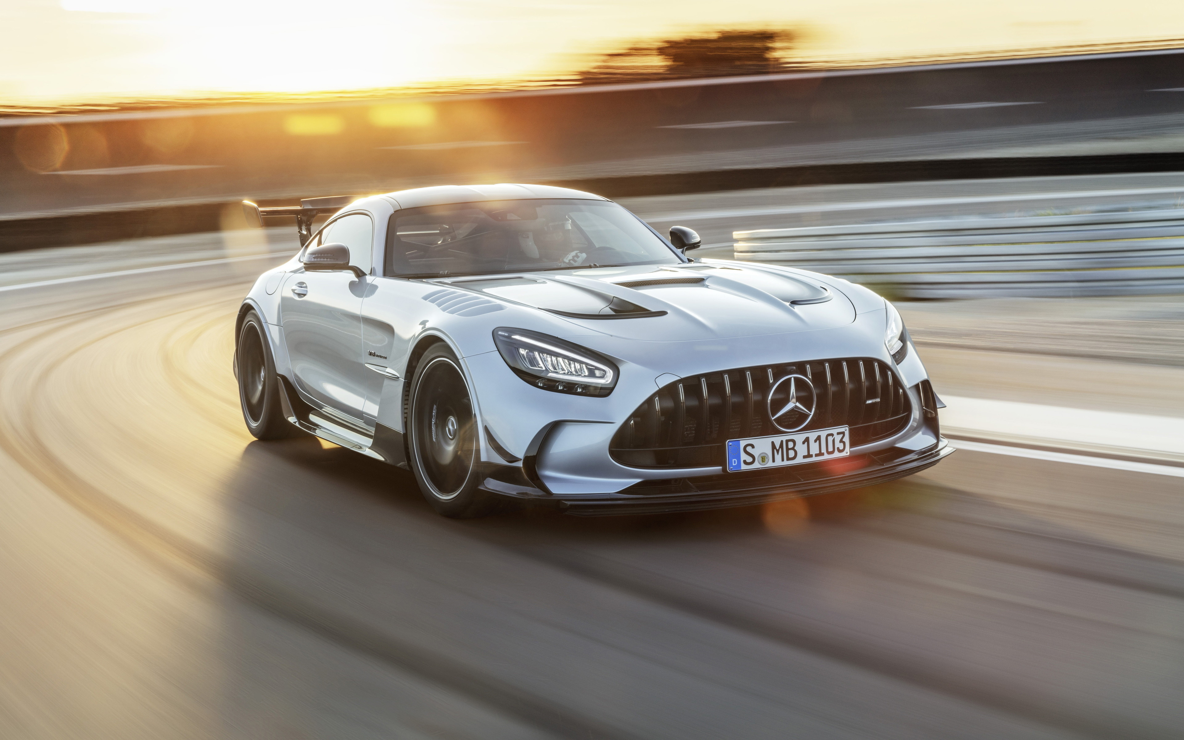 Mercedes AMG GT Black Series 2020 wallpaper 3840x2400
